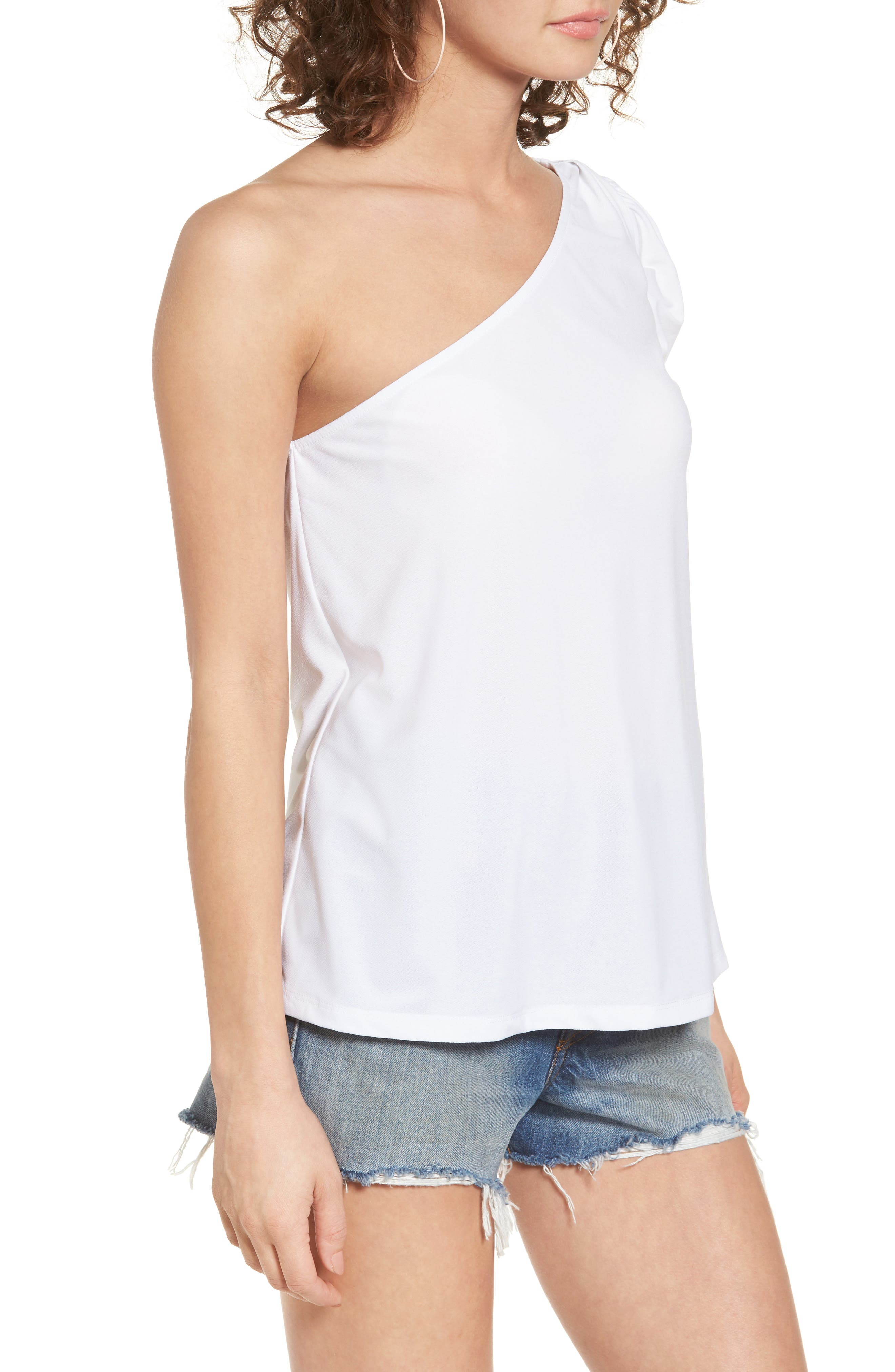 Alternate Image 3  - Leith One-Shoulder Top