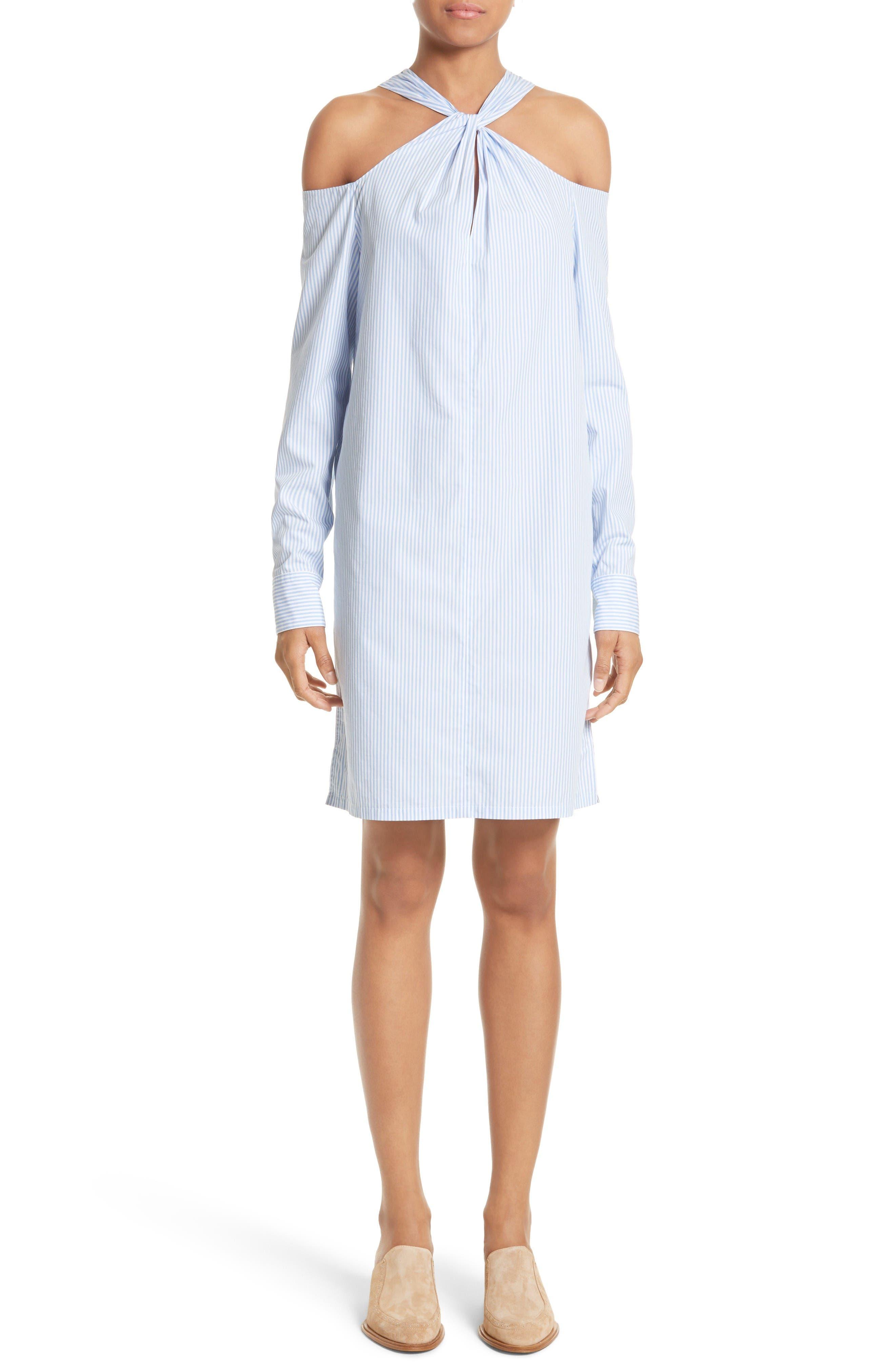 rag & bone Collingwood Cold Shoulder Dress