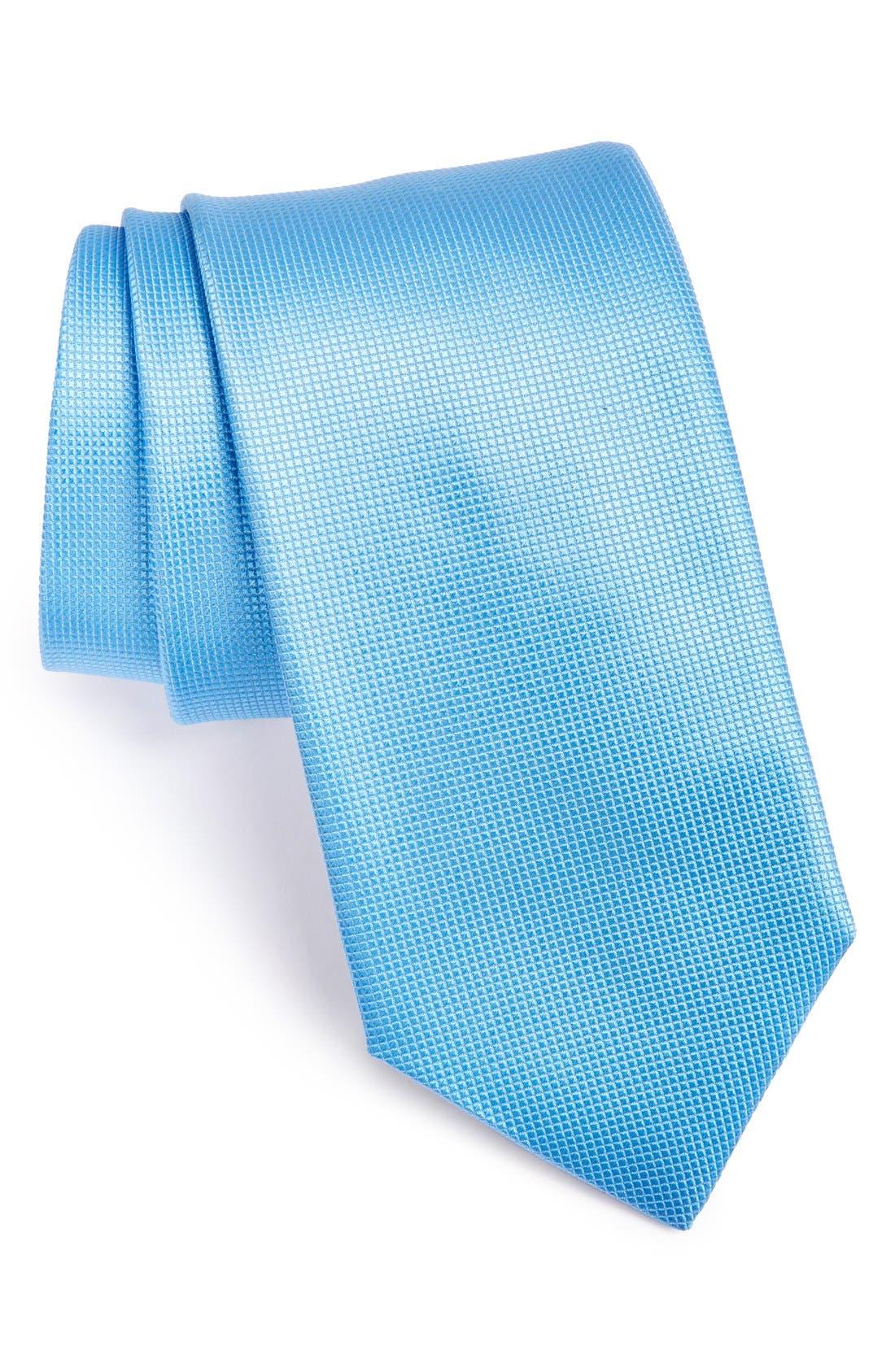 Alternate Image 1 Selected - BOSS Woven Silk Tie