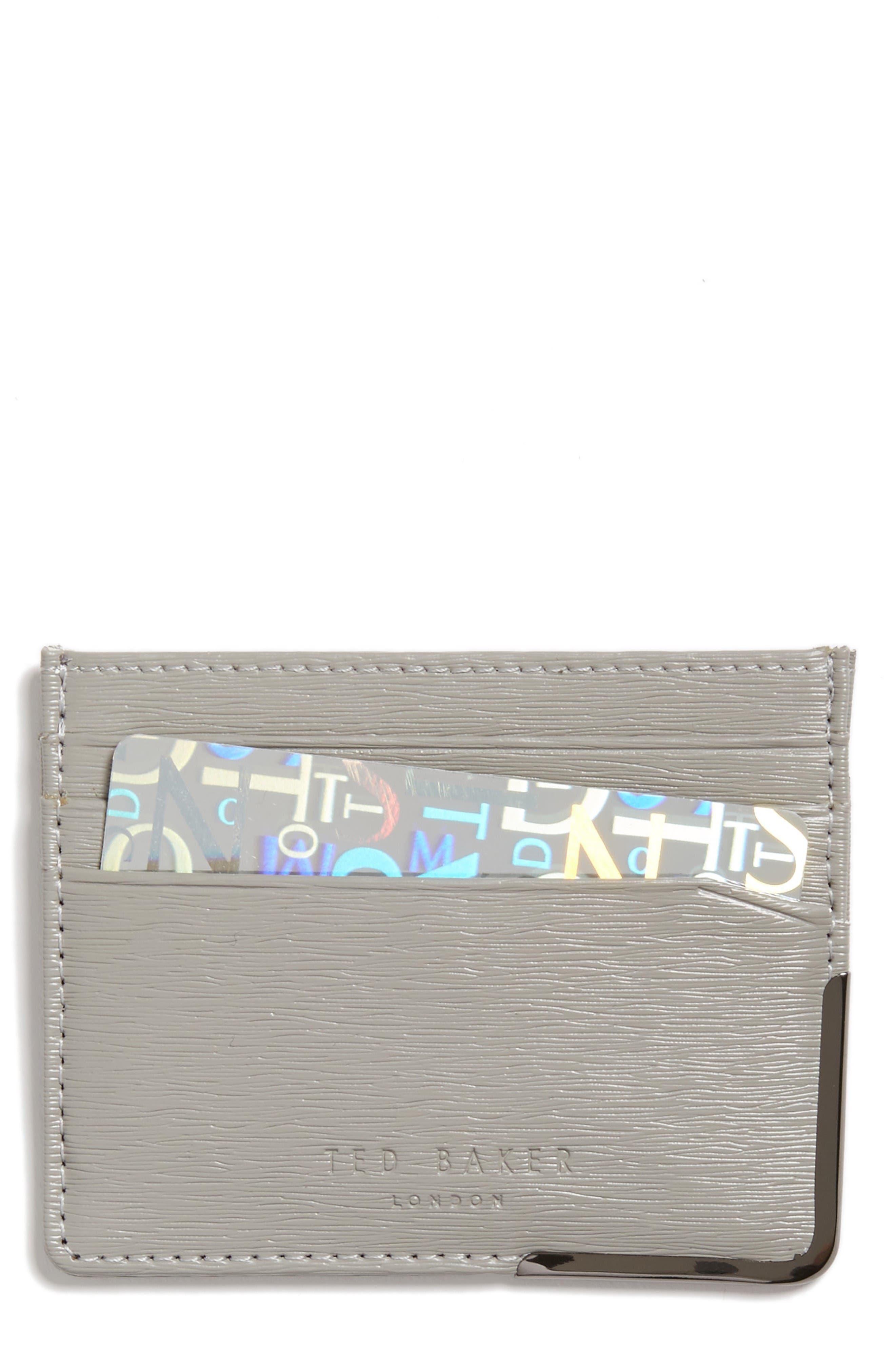 TED BAKER LONDON Foldcor Leather Card Case