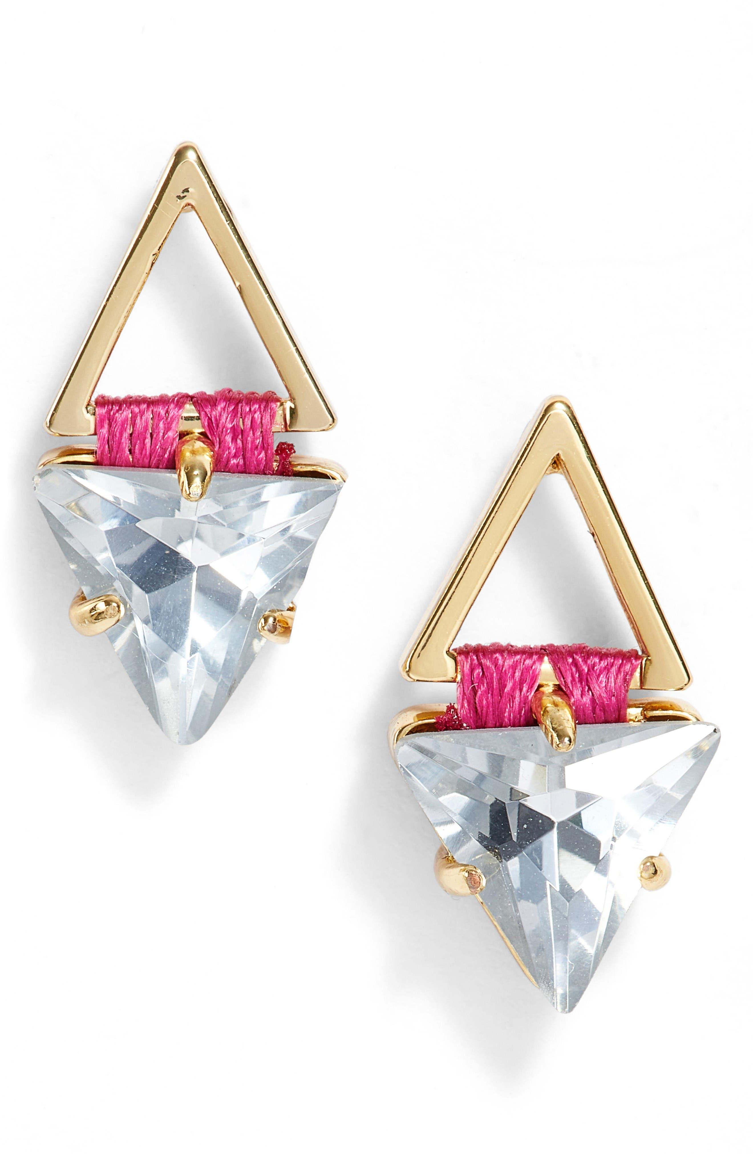 Alternate Image 1 Selected - Rebecca Minkoff Geo Stud Earrings