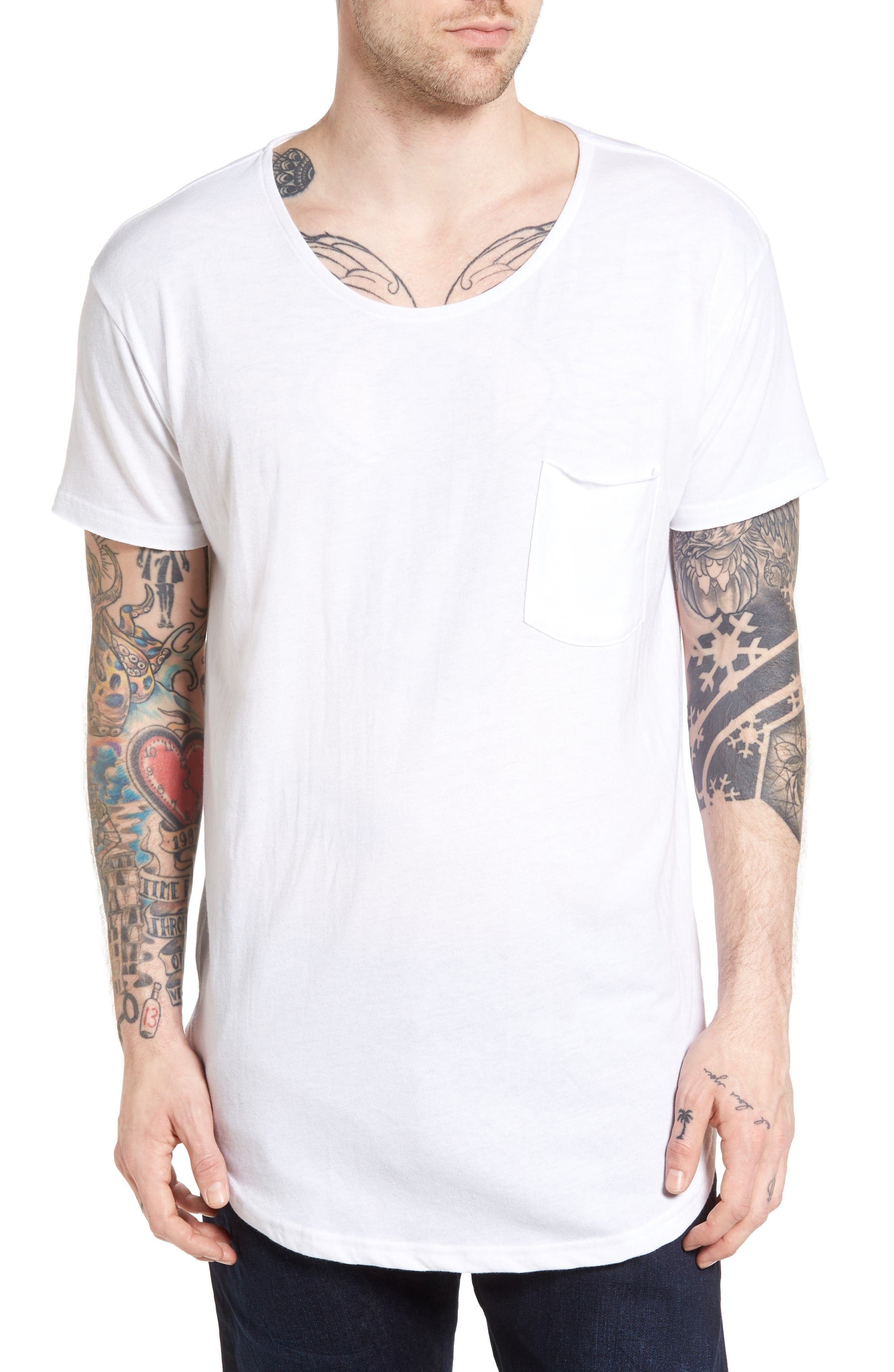 The Rail Longline Scallop T-Shirt
