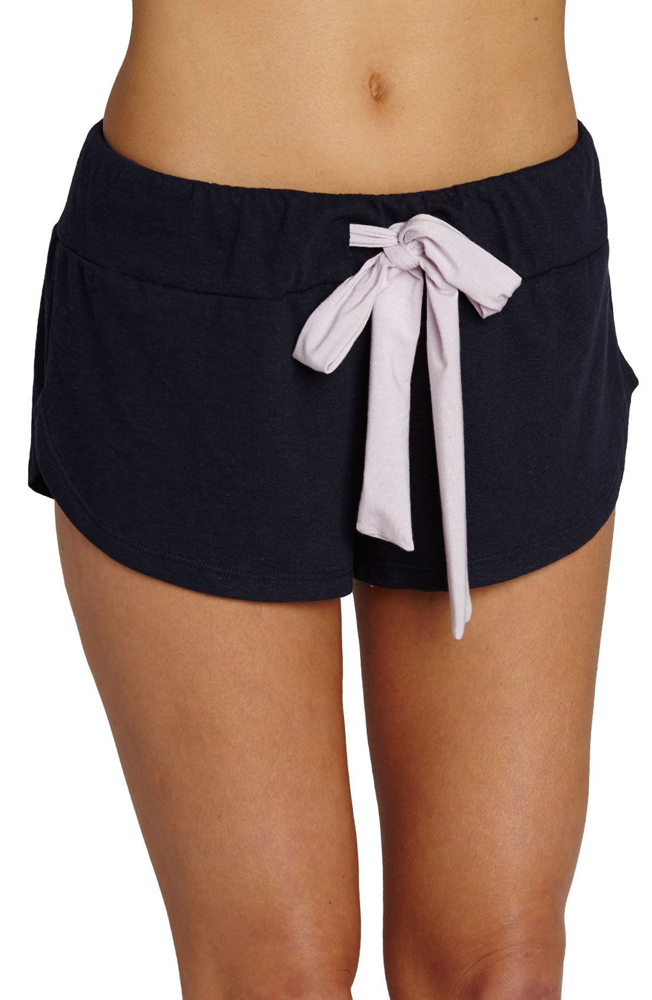 Main Image - Eberjey Heather Knit Shorts