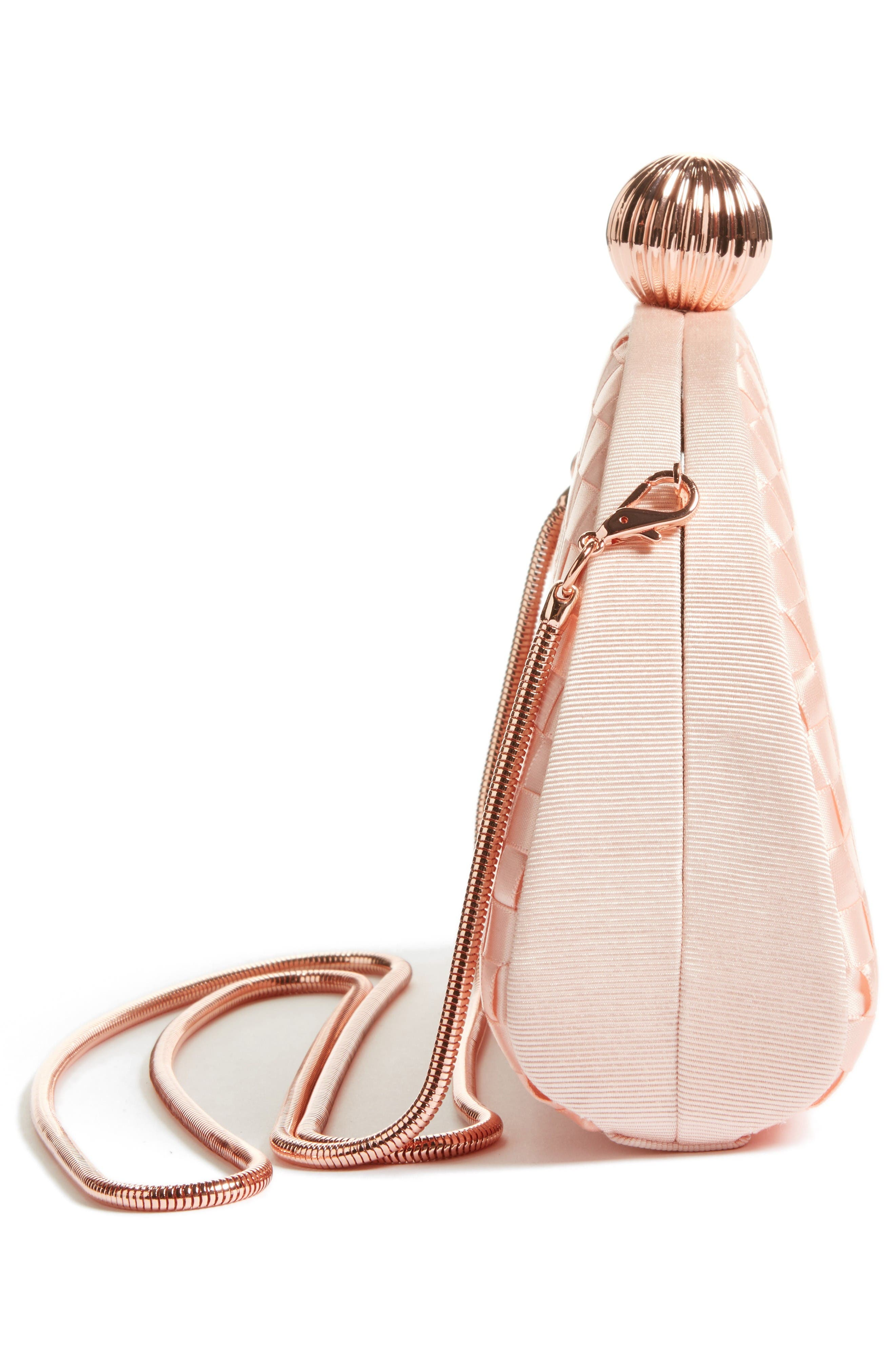 Alternate Image 4  - Ted Baker London Woven Dome Clutch