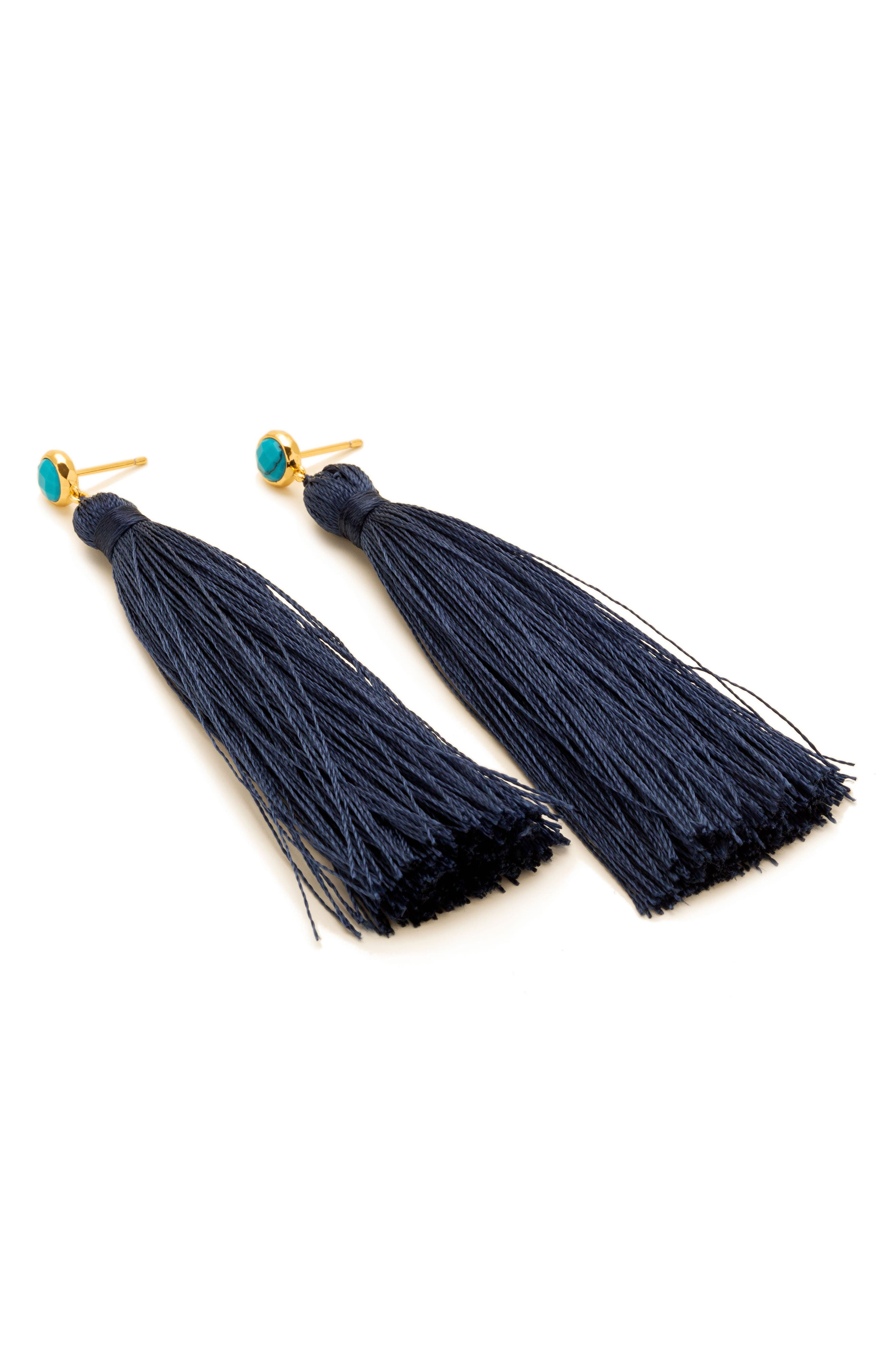 Alternate Image 2  - gorjana Tulum Tassel Earrings