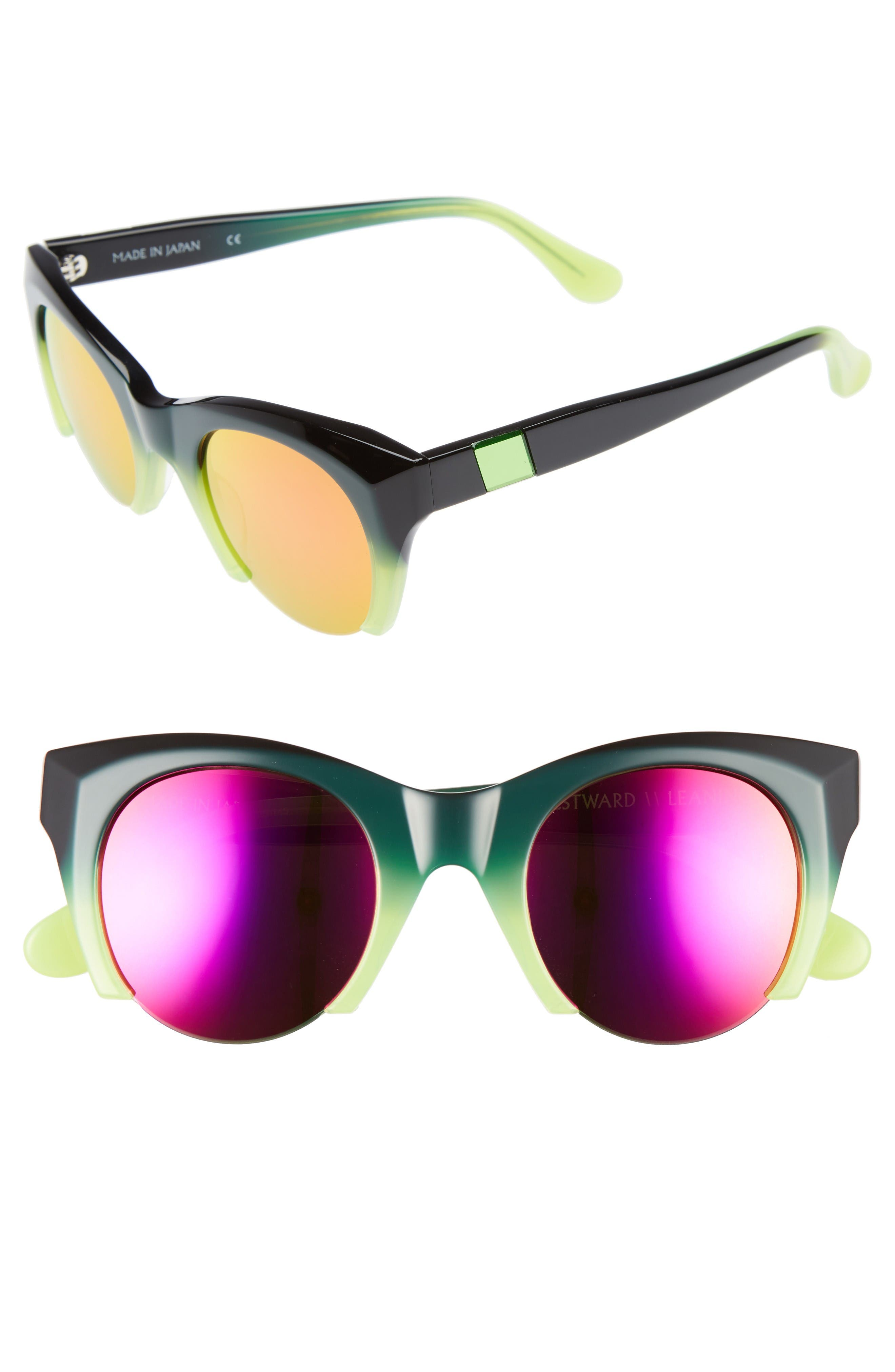 Westward Leaning Lost on Paradise 47mm Sunglasses