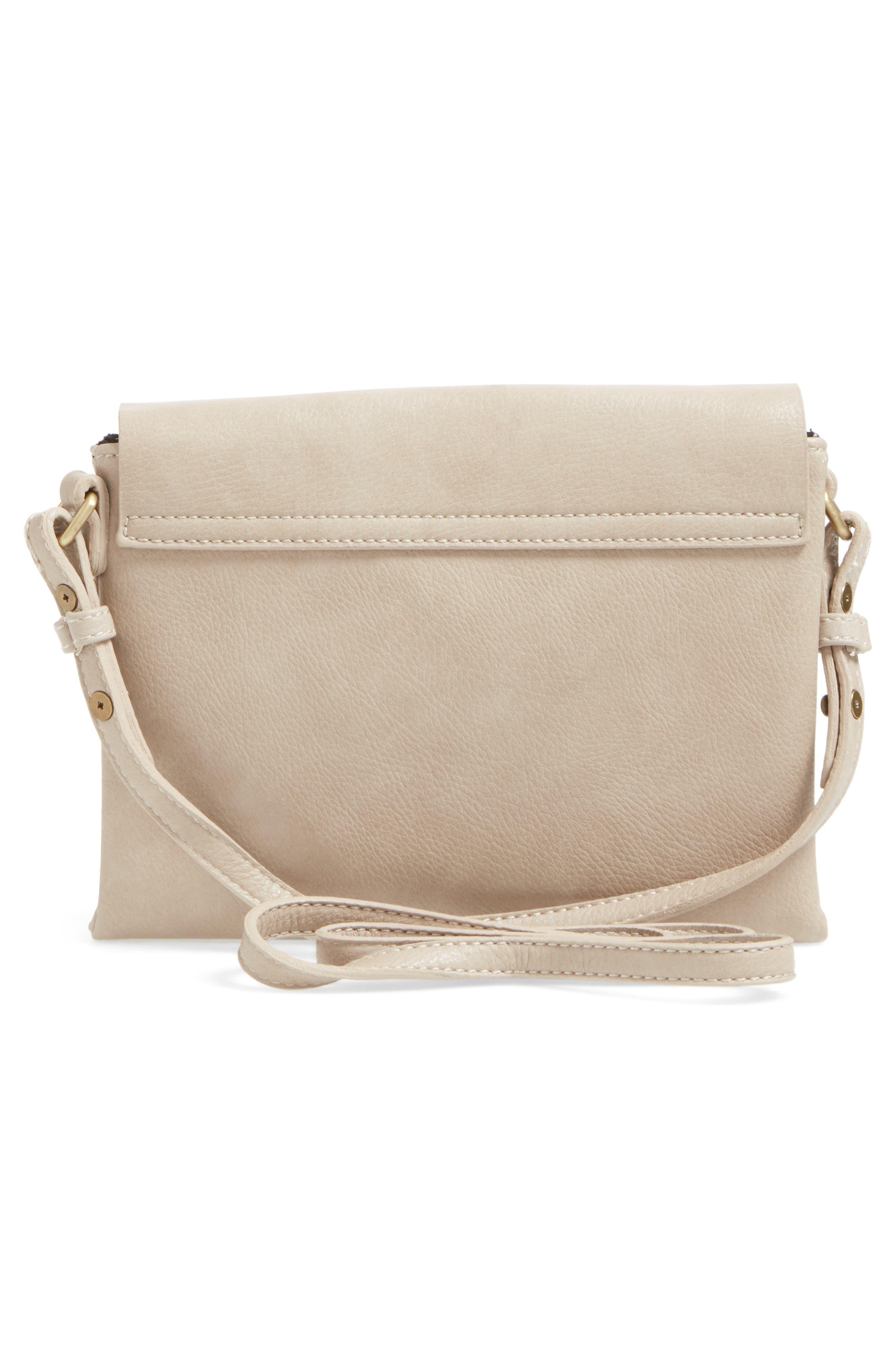 Alternate Image 3  - Street Level Faux Leather Envelope Crossbody Bag