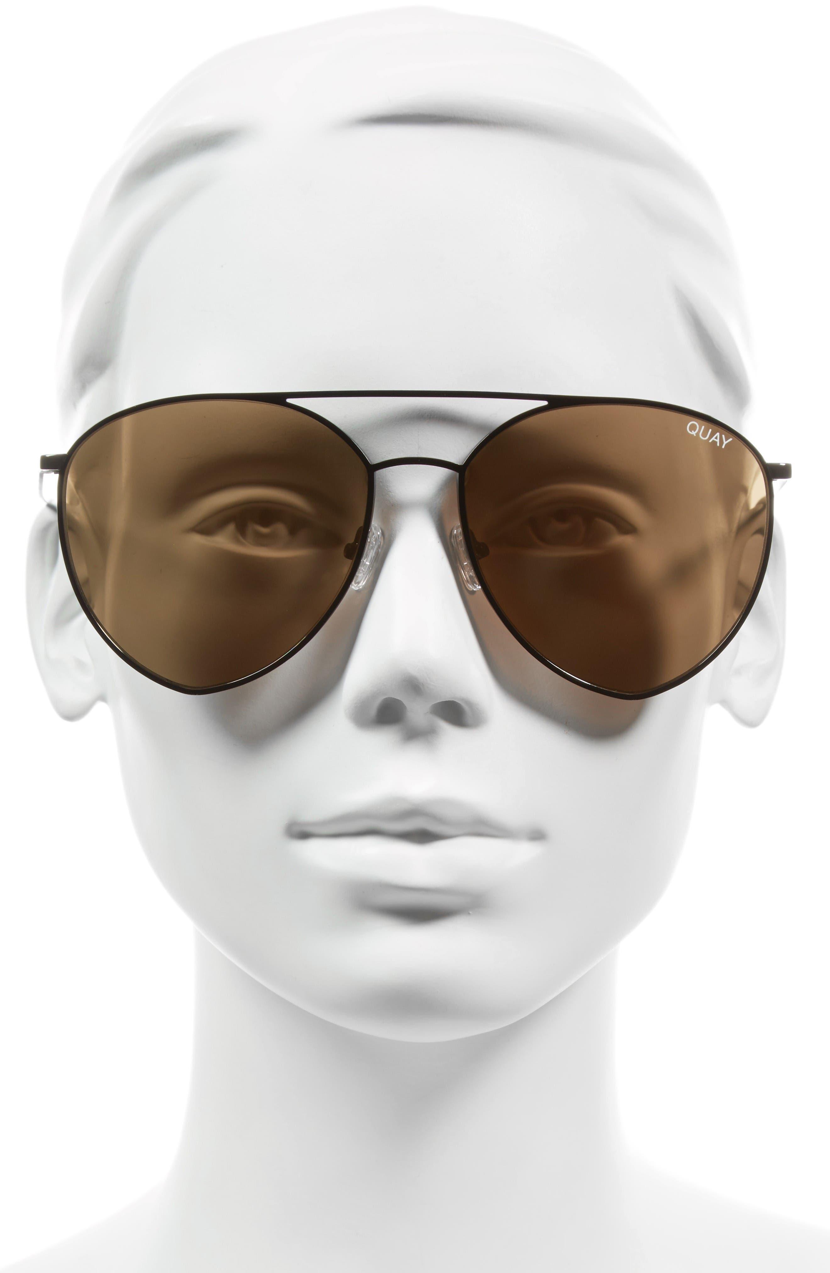 Alternate Image 3  - Quay Australia x Jasmine Sanders Indio 60mm Mirrored Aviator Sunglasses