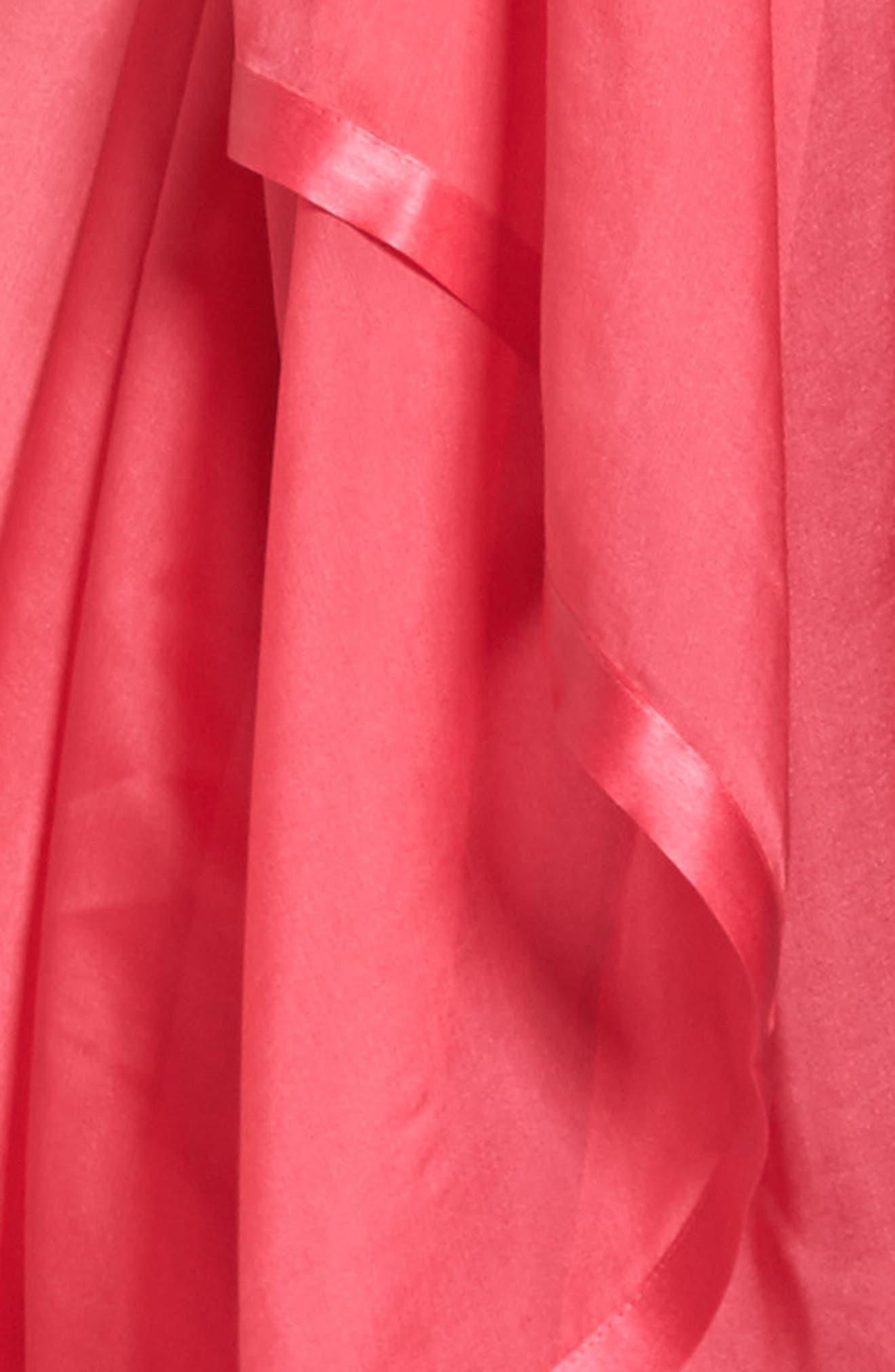 Alternate Image 5  - Glint Satin Border Silk Wrap