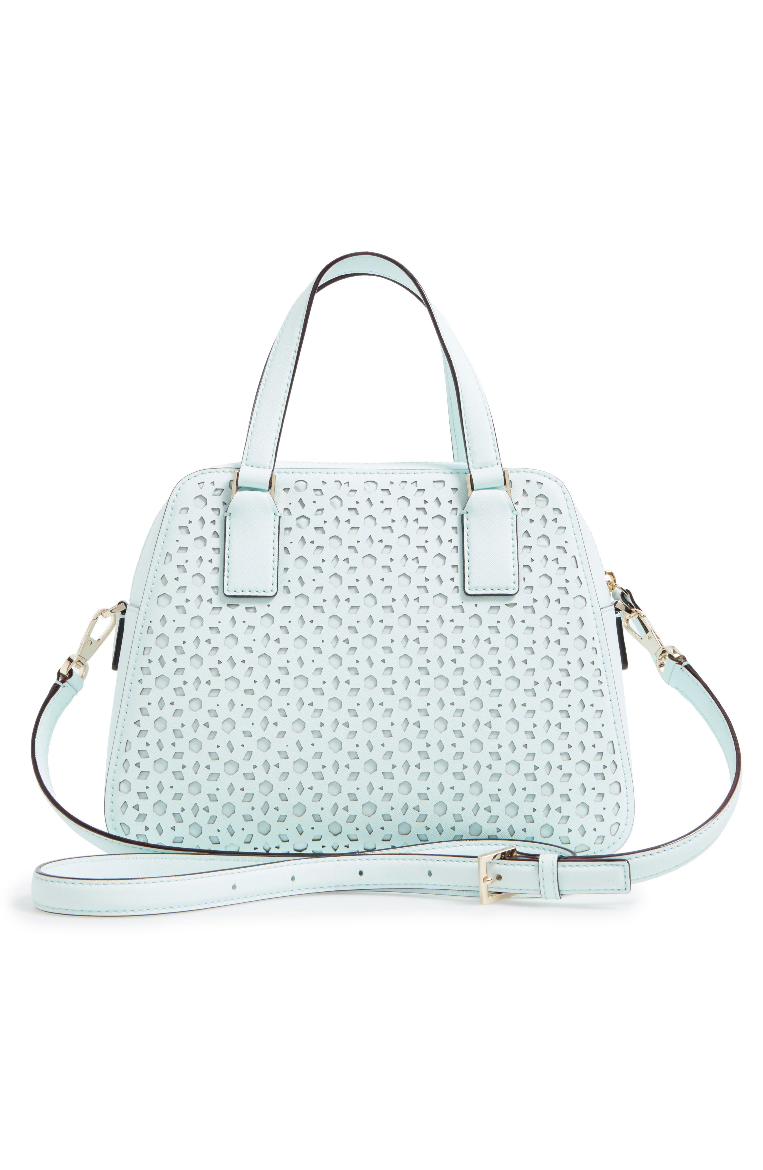 Alternate Image 3  - kate spade new york cameron street perforated little babe leather satchel