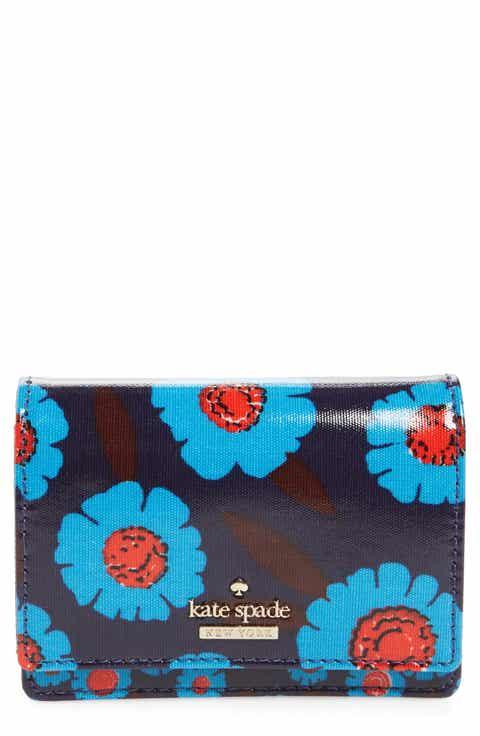 kate spade new york cameron street floral - beca wallet