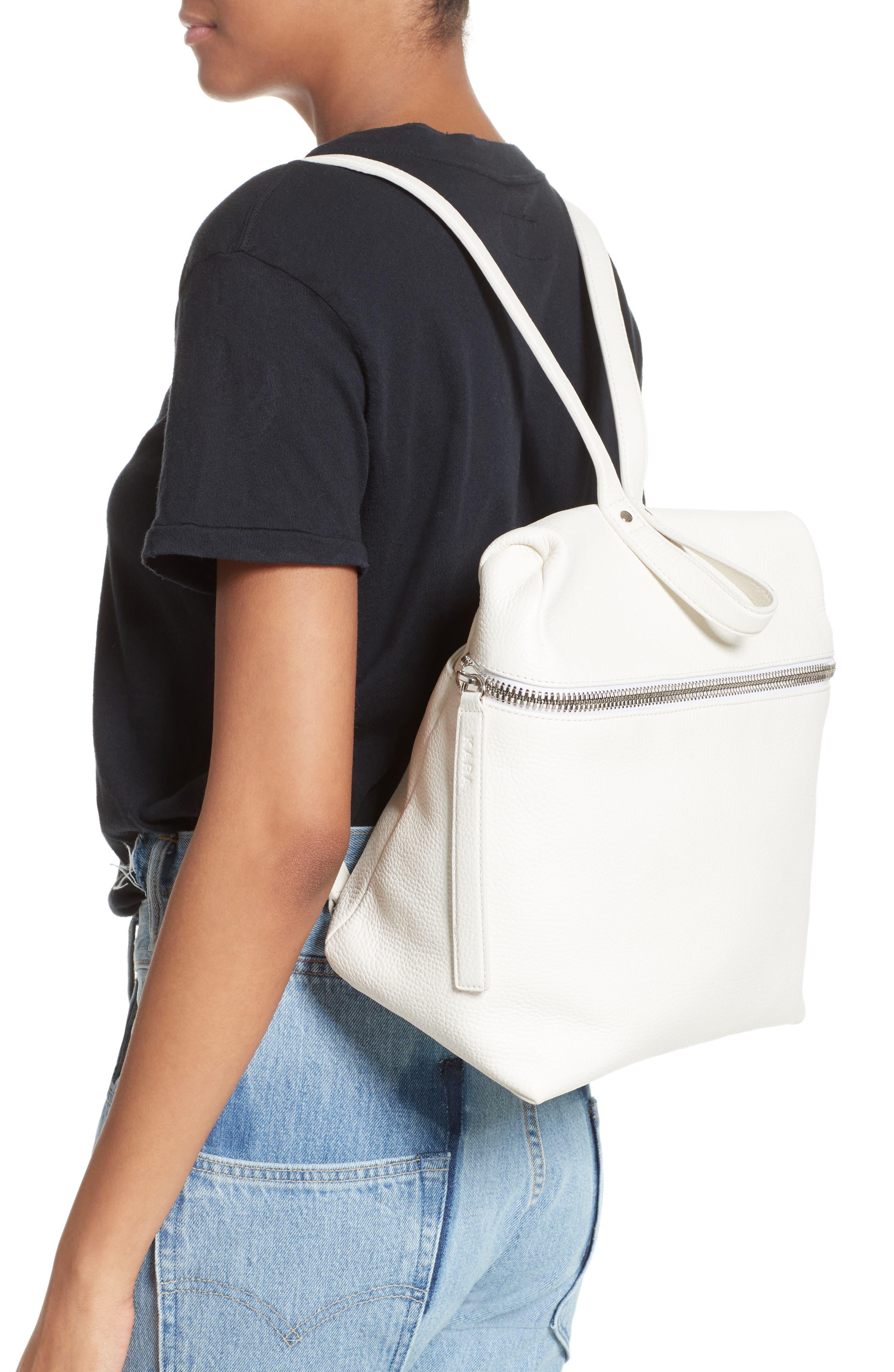 KARA Leather Backpack