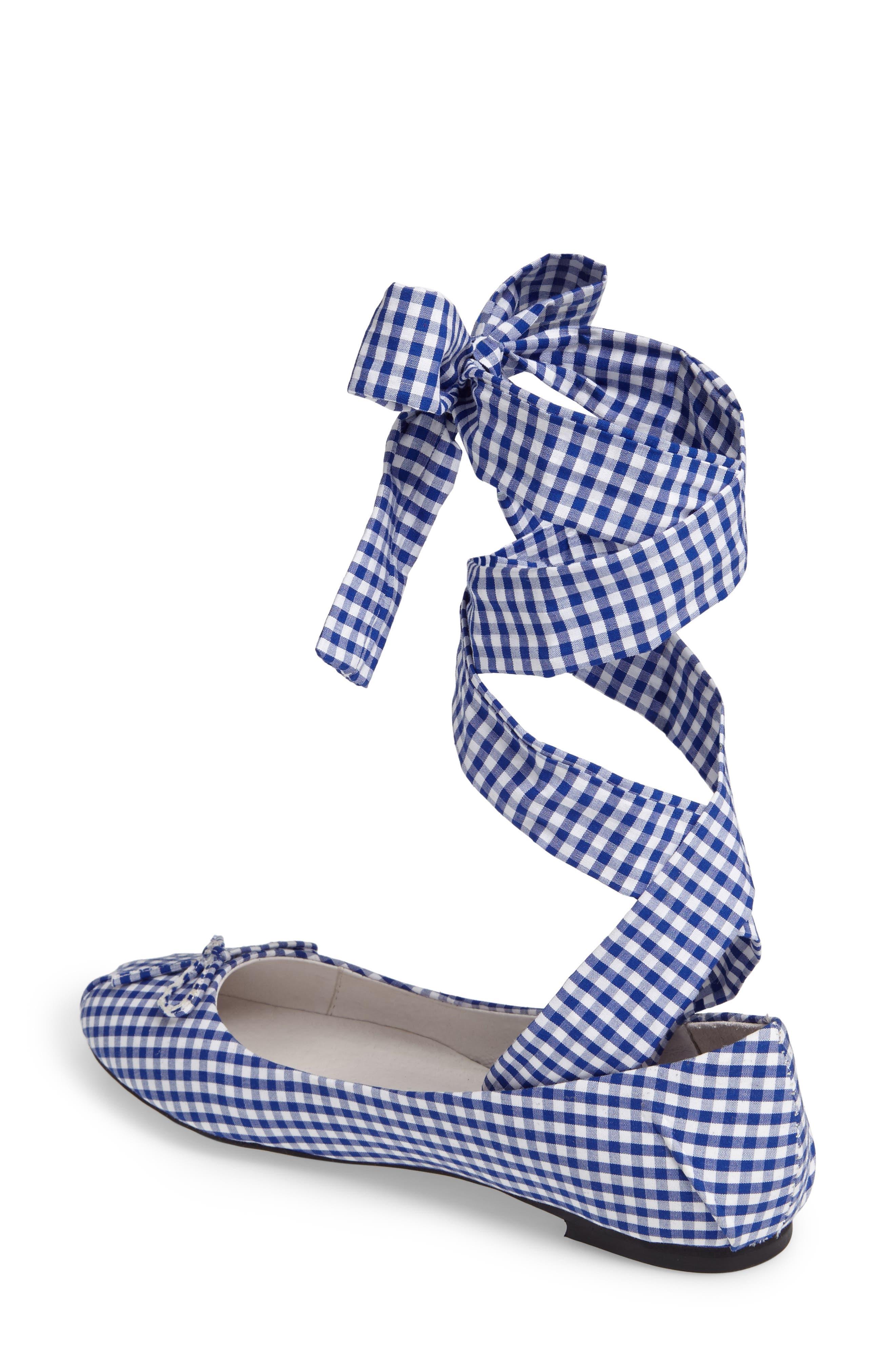 Alternate Image 2  - Jeffrey Campbell Sarine Ankle Wrap Flat (Women)