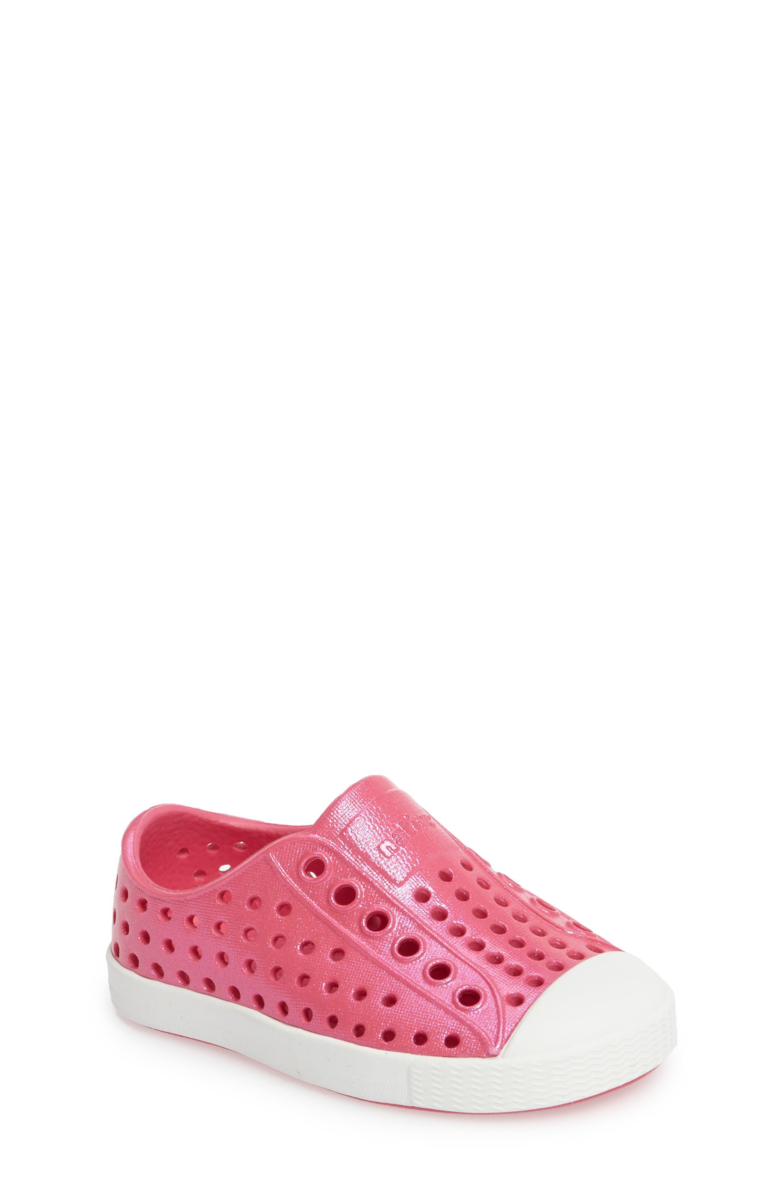 Native Shoes 'Jefferson' Iridescent Slip-On Sneaker (Baby, Walker, Toddler & Little Kid)
