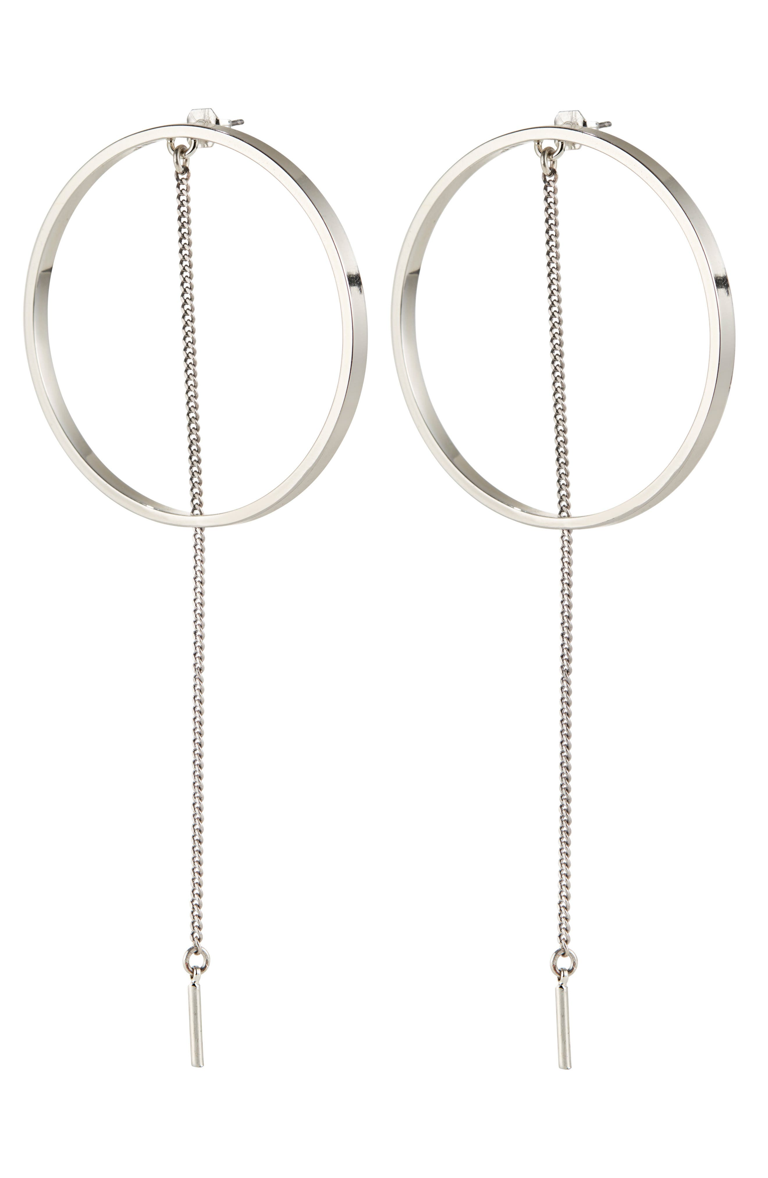 Alternate Image 1 Selected - Jenny Bird Rhine Frontal Hoop Earrings
