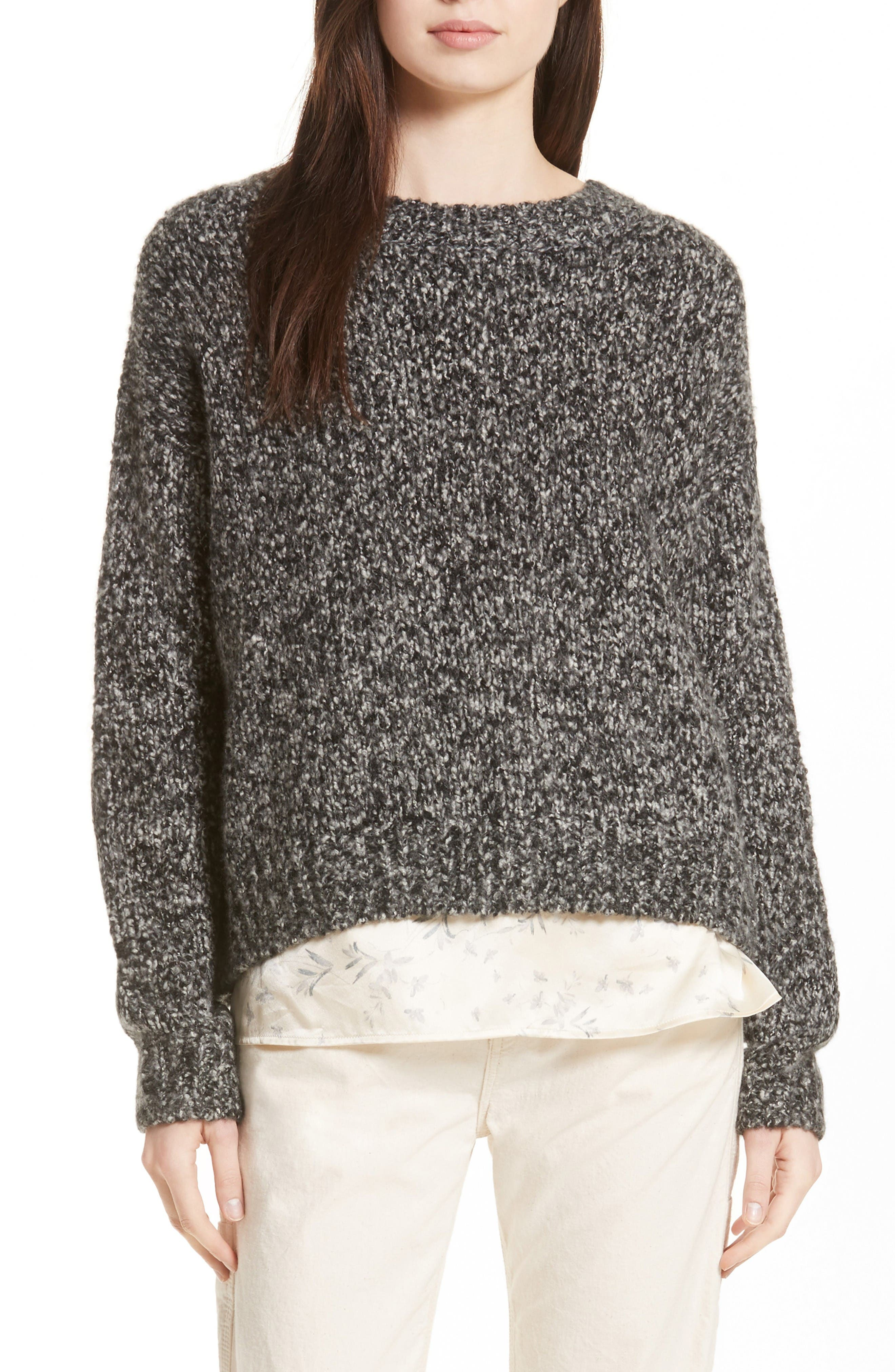 Alternate Image 1 Selected - Vince Chunky Knit Sweater