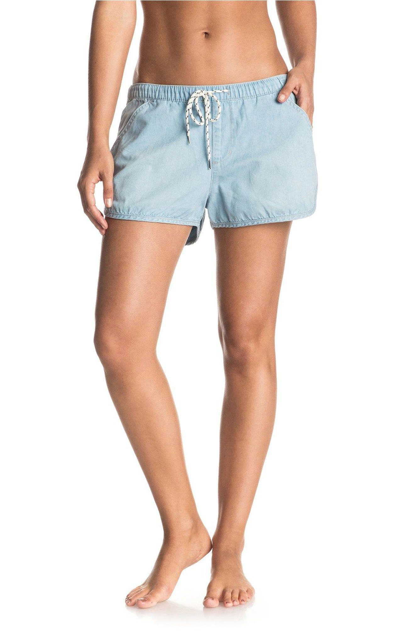 Roxy Summer Feel Chambray Shorts