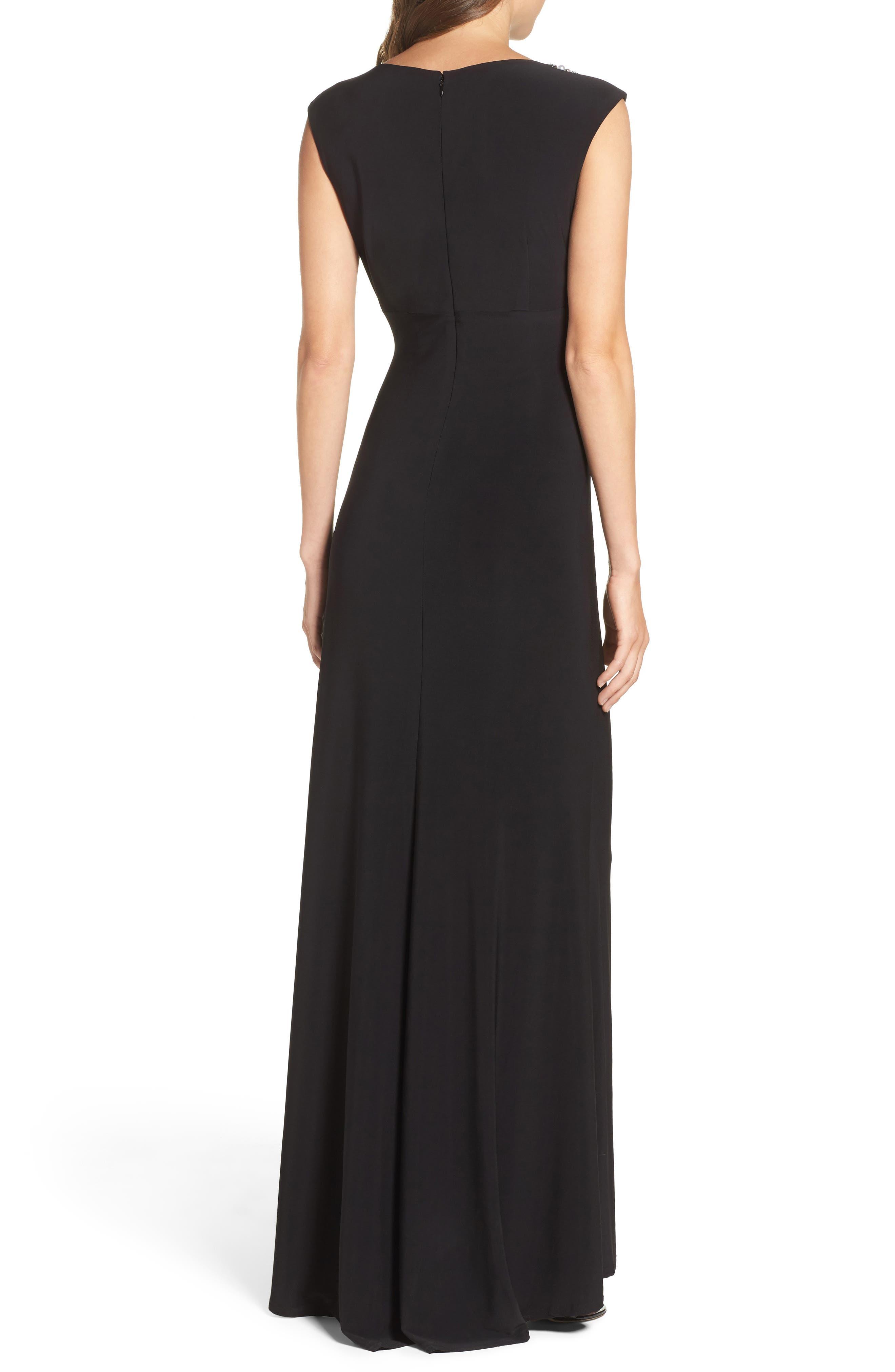 Alternate Image 2  - Vince Camuto Embellished Gown