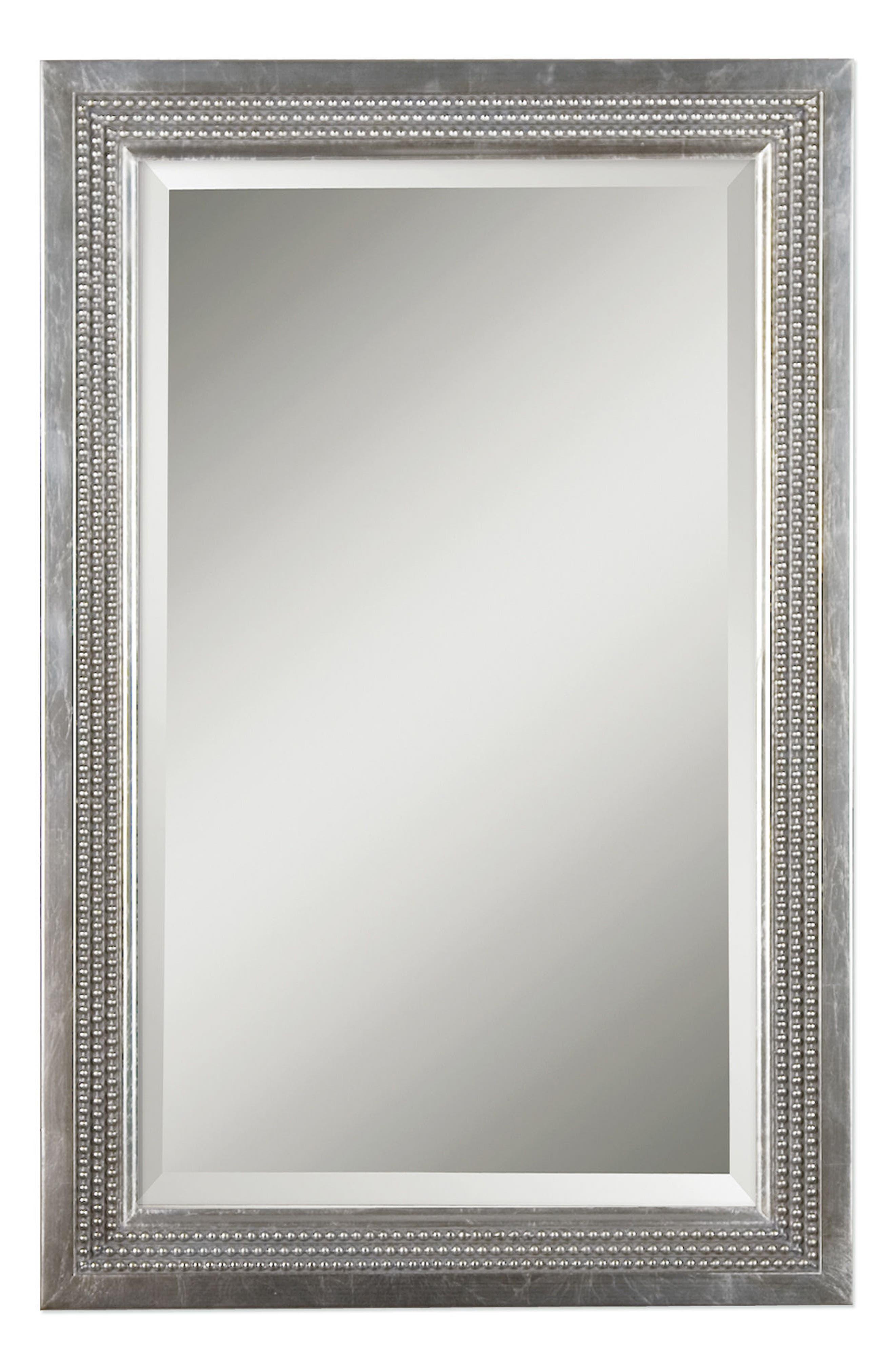 Uttermost Triple Beaded Vanity Mirror