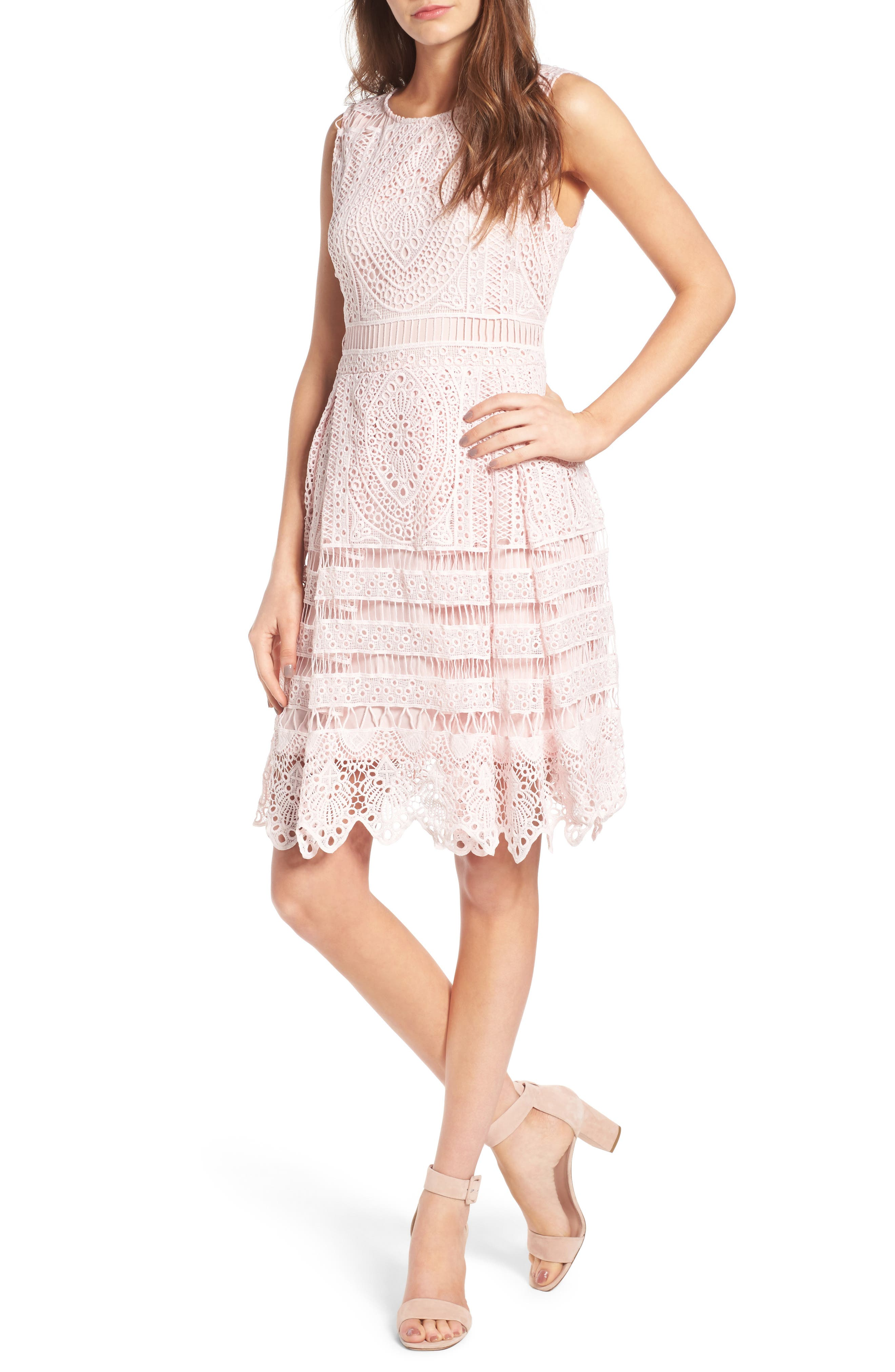 Main Image - cupcakes and cashmere Summers Sheath Dress