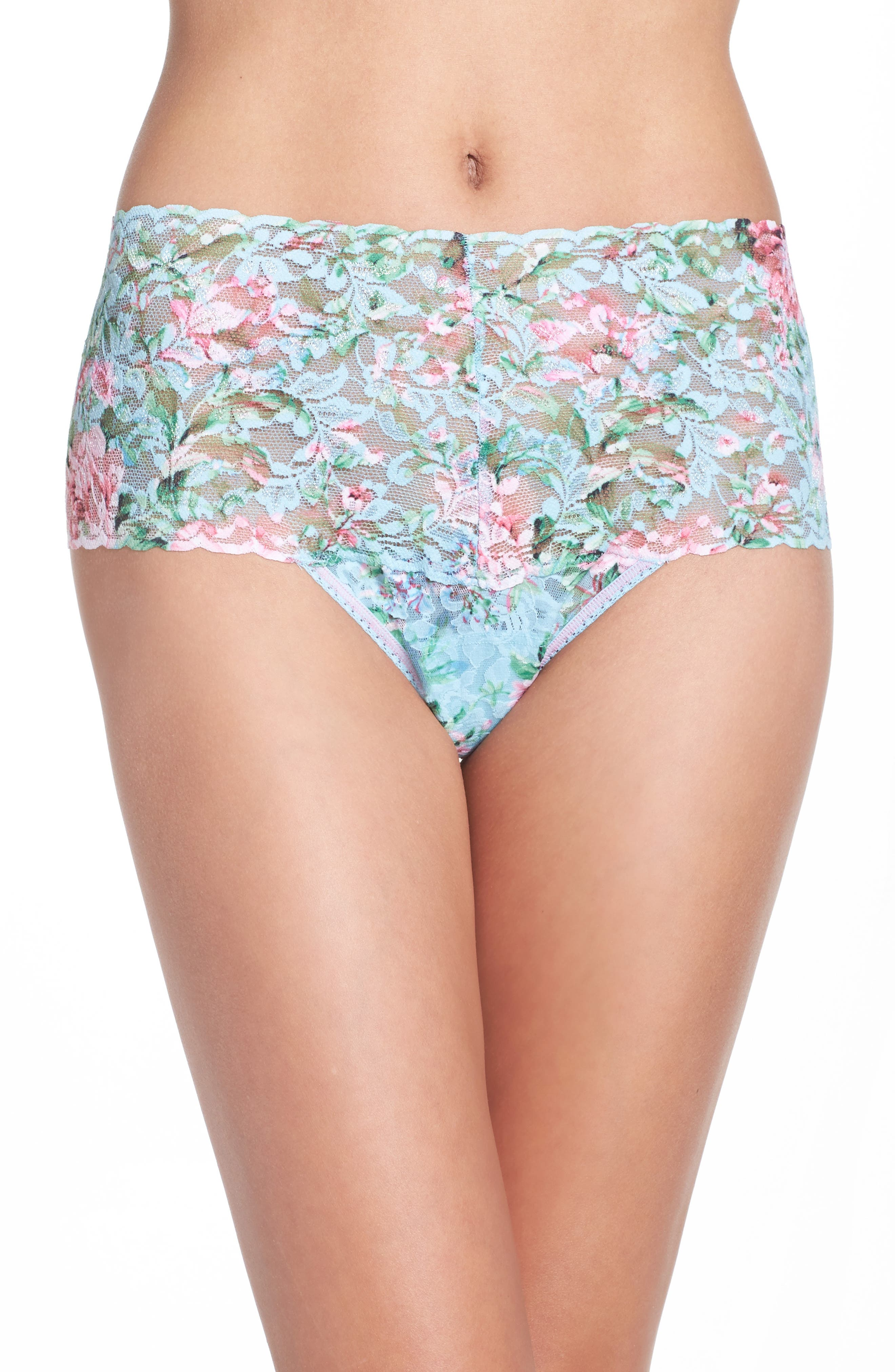 Hanky Panky Capri Bloom Retro Thong