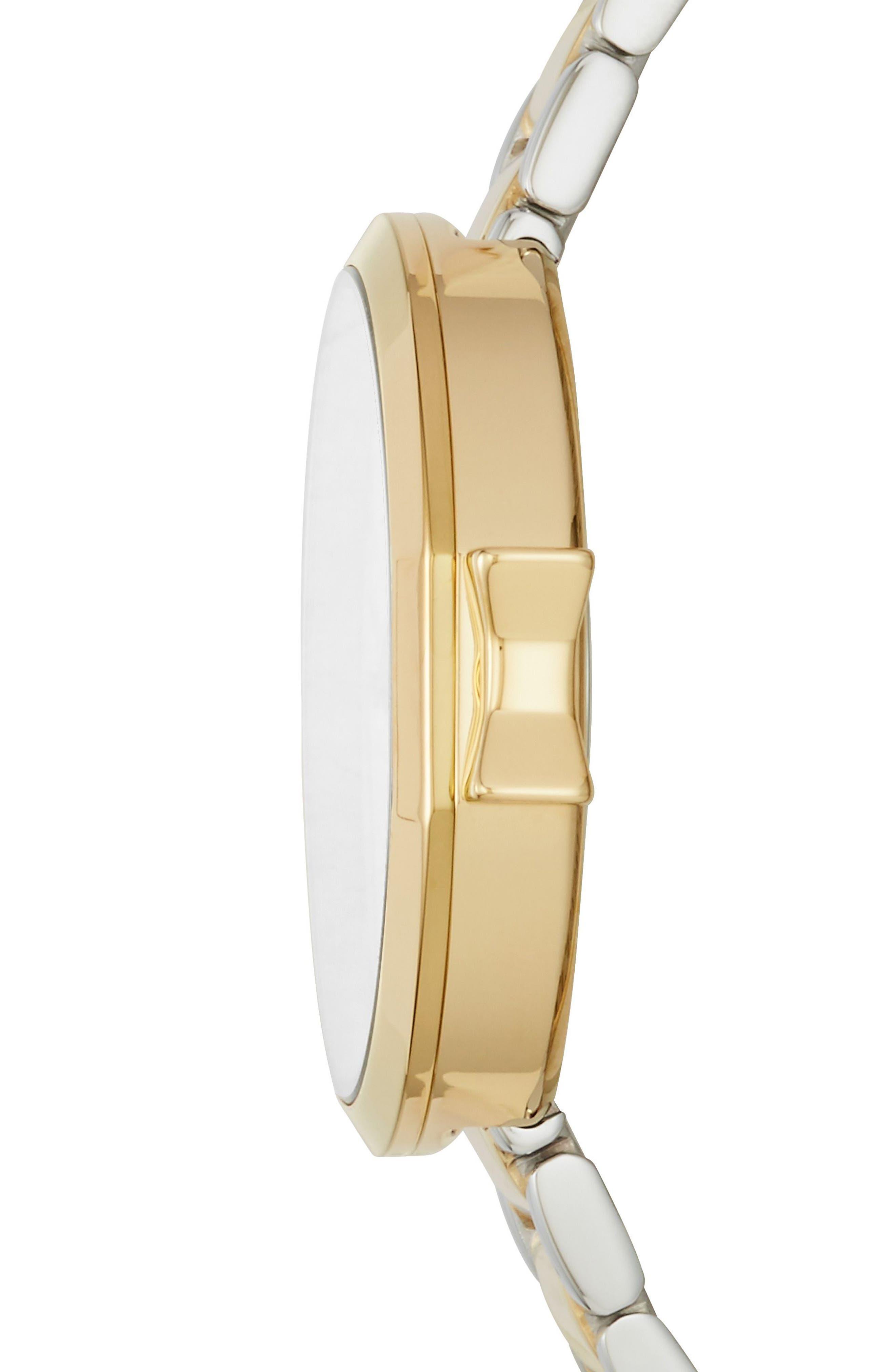 Alternate Image 2  - kate spade new york park row bracelet watch, 34mm