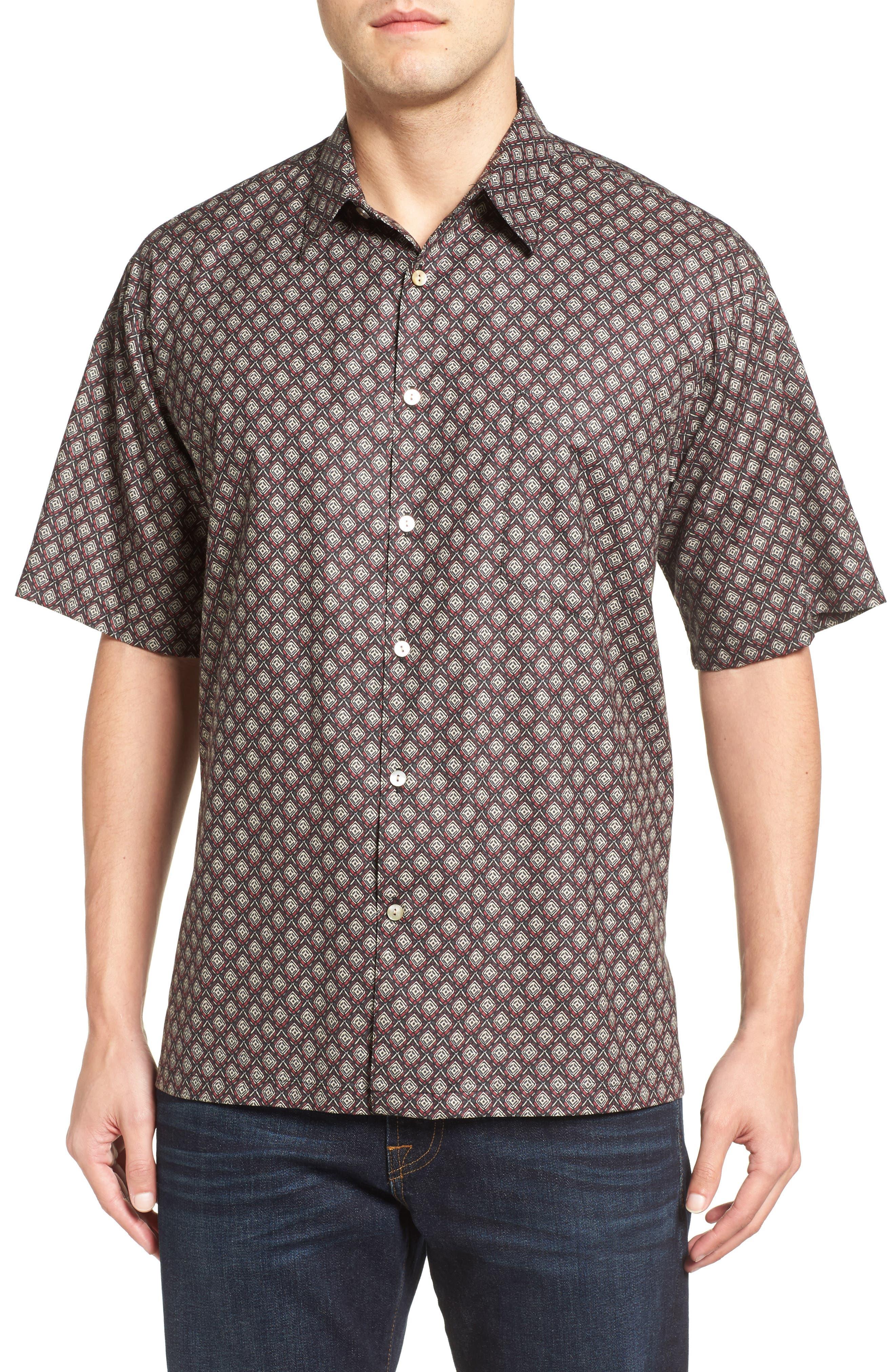 Tori Richard Hallmark Short Sleeve Classic Fit Sport Shirt