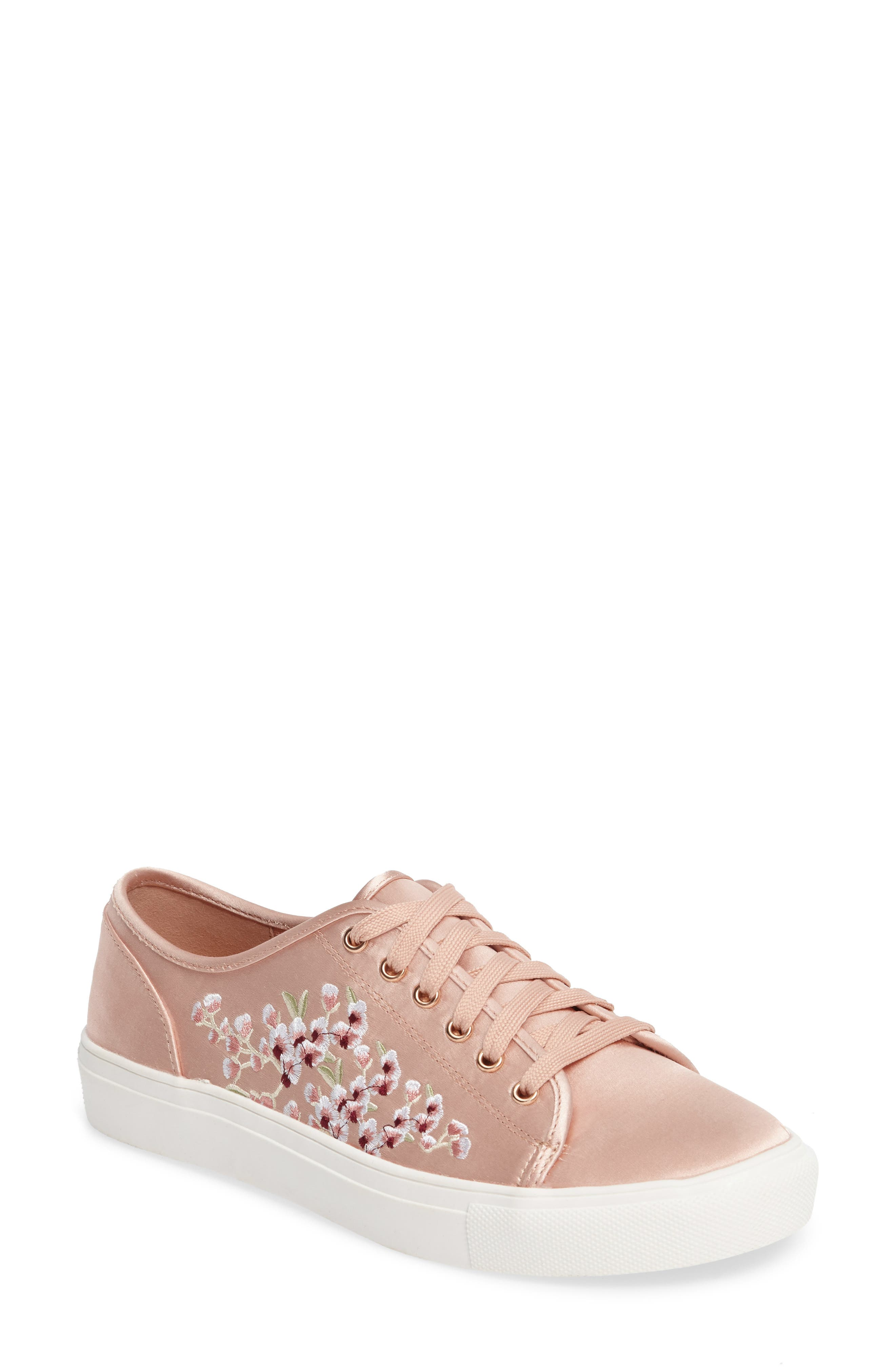 Alternate Image 1 Selected - Topshop Cupid Embroidered Sneaker (Women)
