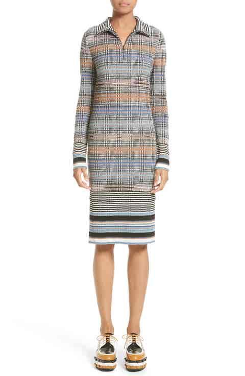 Missoni Tartan Plaid Knit Dress