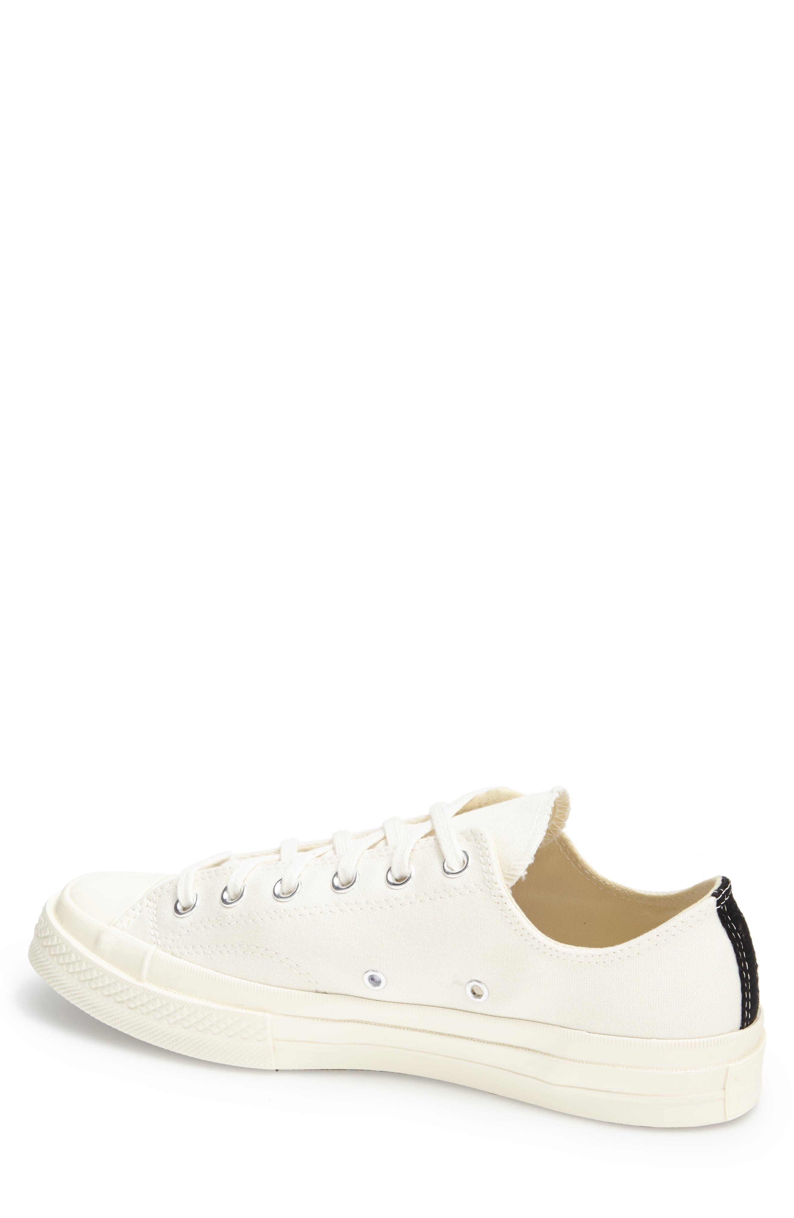 Alternate Image 2  - Comme des Garçons PLAY x Converse Chuck Taylor® Hidden Heart Low Top Sneaker (Women)