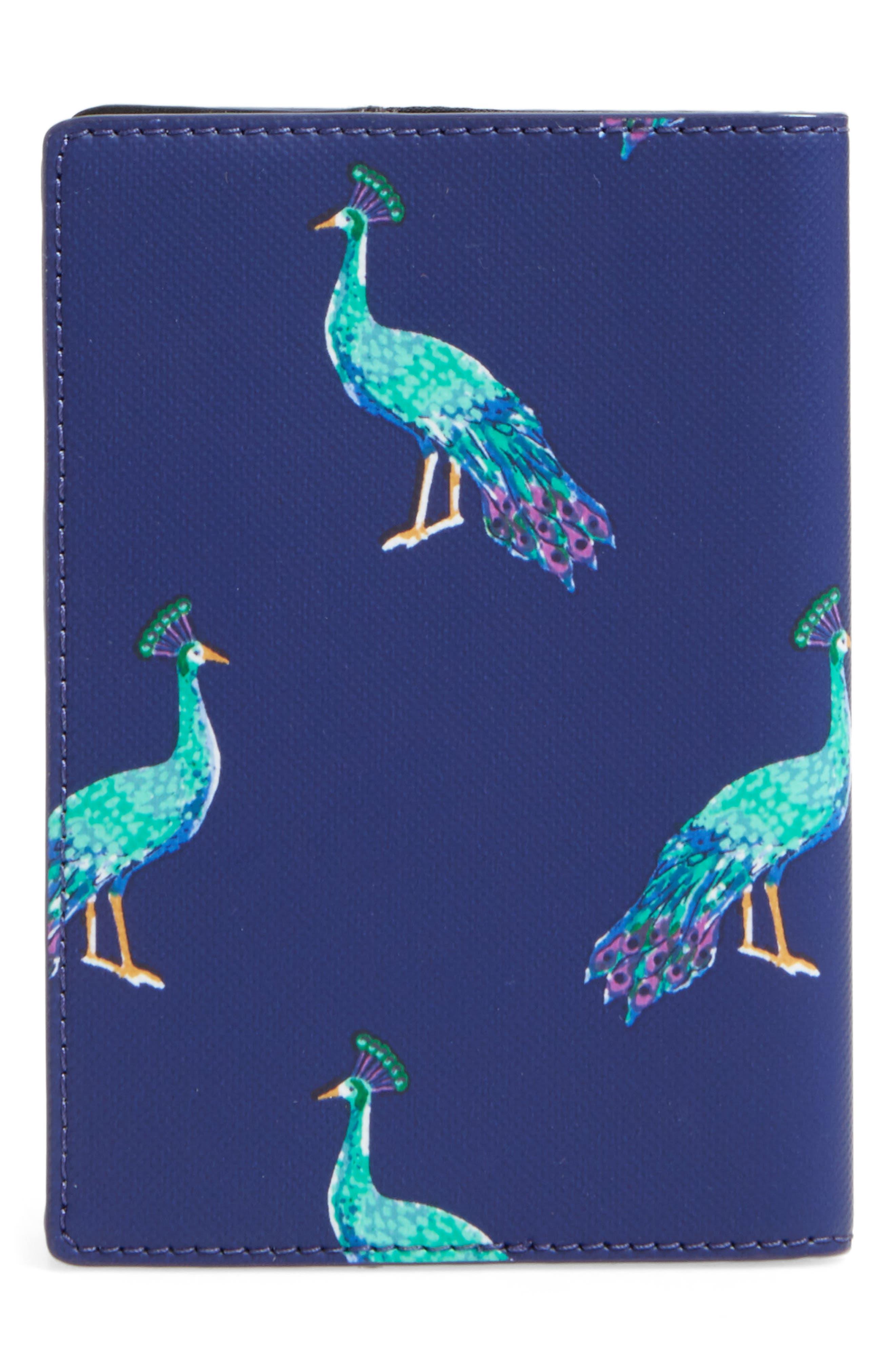 Alternate Image 3  - kate spade new york peacock passport holder