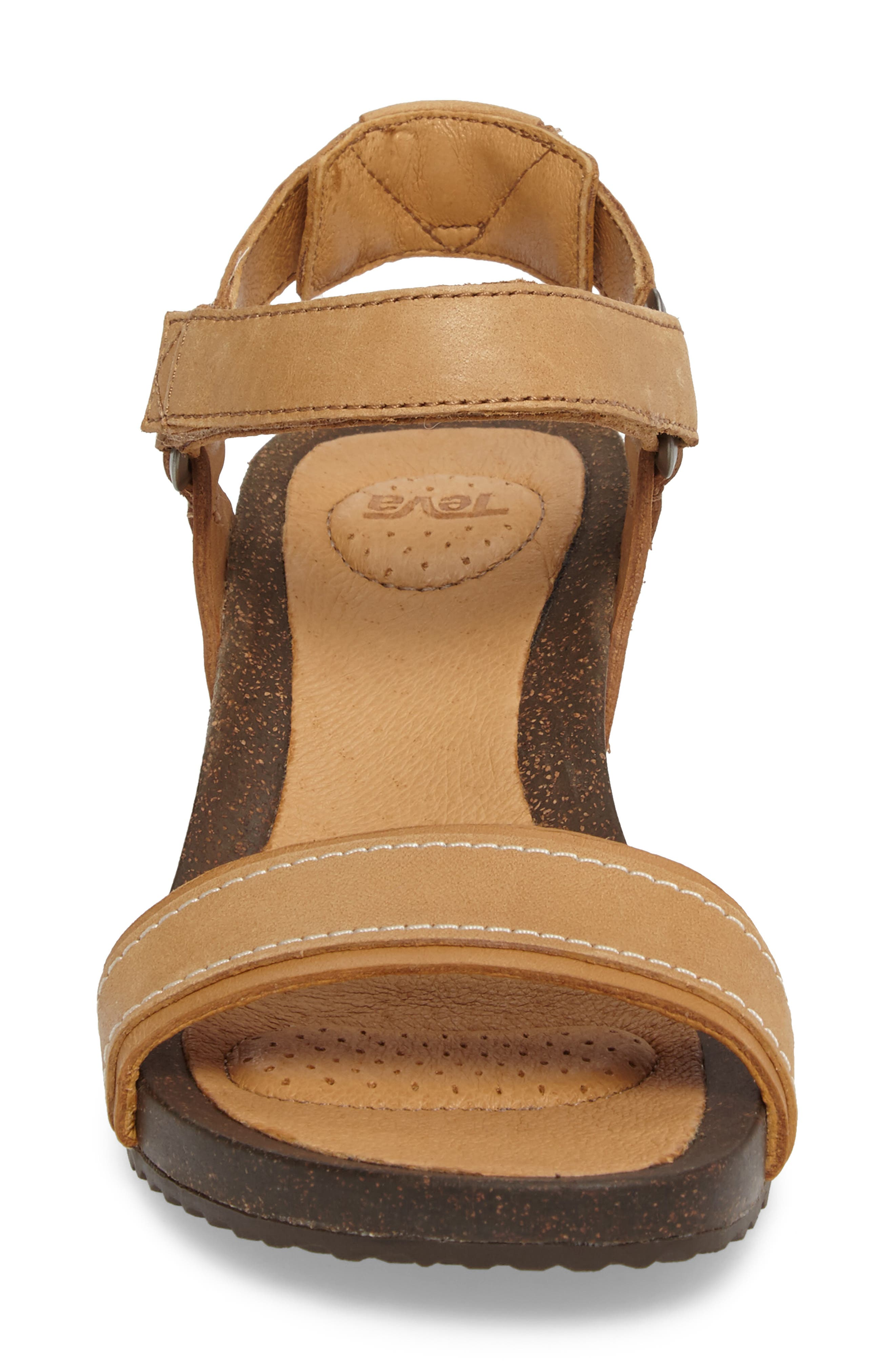 Alternate Image 4  - Tevo Ysidro Stitch Wedge Sandal (Women)