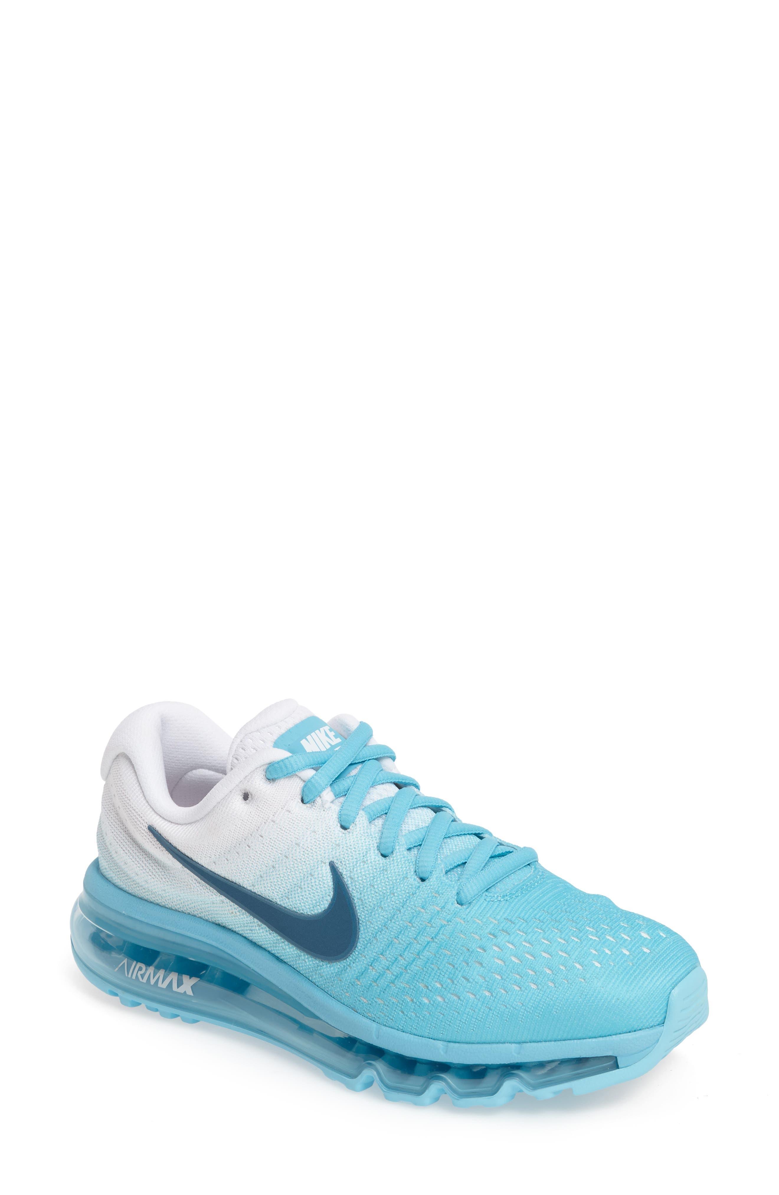Alternate Image 1 Selected - Nike Air Max 2017 Running Shoe (Women)