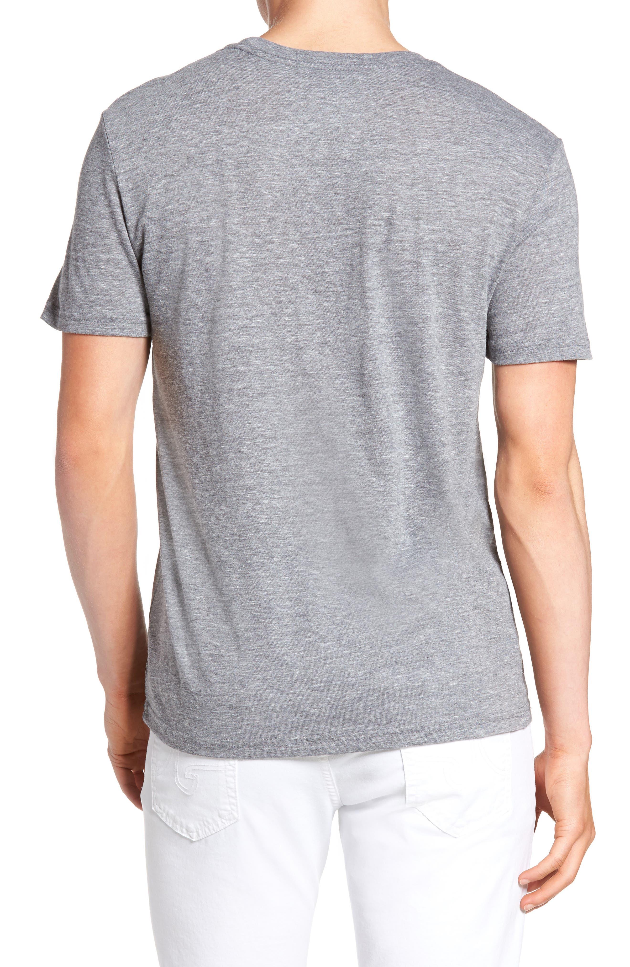 Alternate Image 2  - The Rail Slim Fit Crewneck T-Shirt