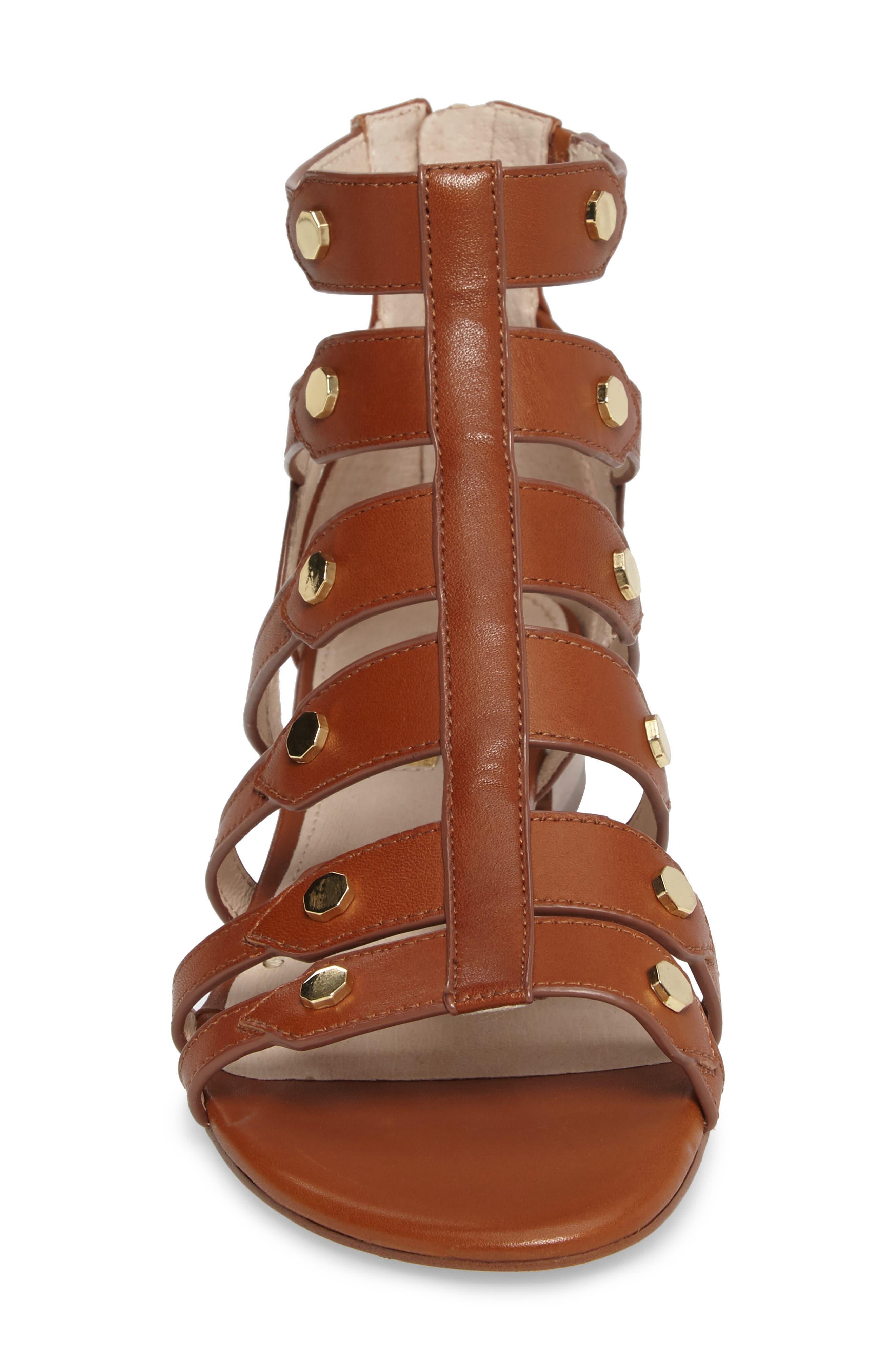 Alternate Image 4  - Louise et Cie Aria Studded Gladiator Sandal (Women)