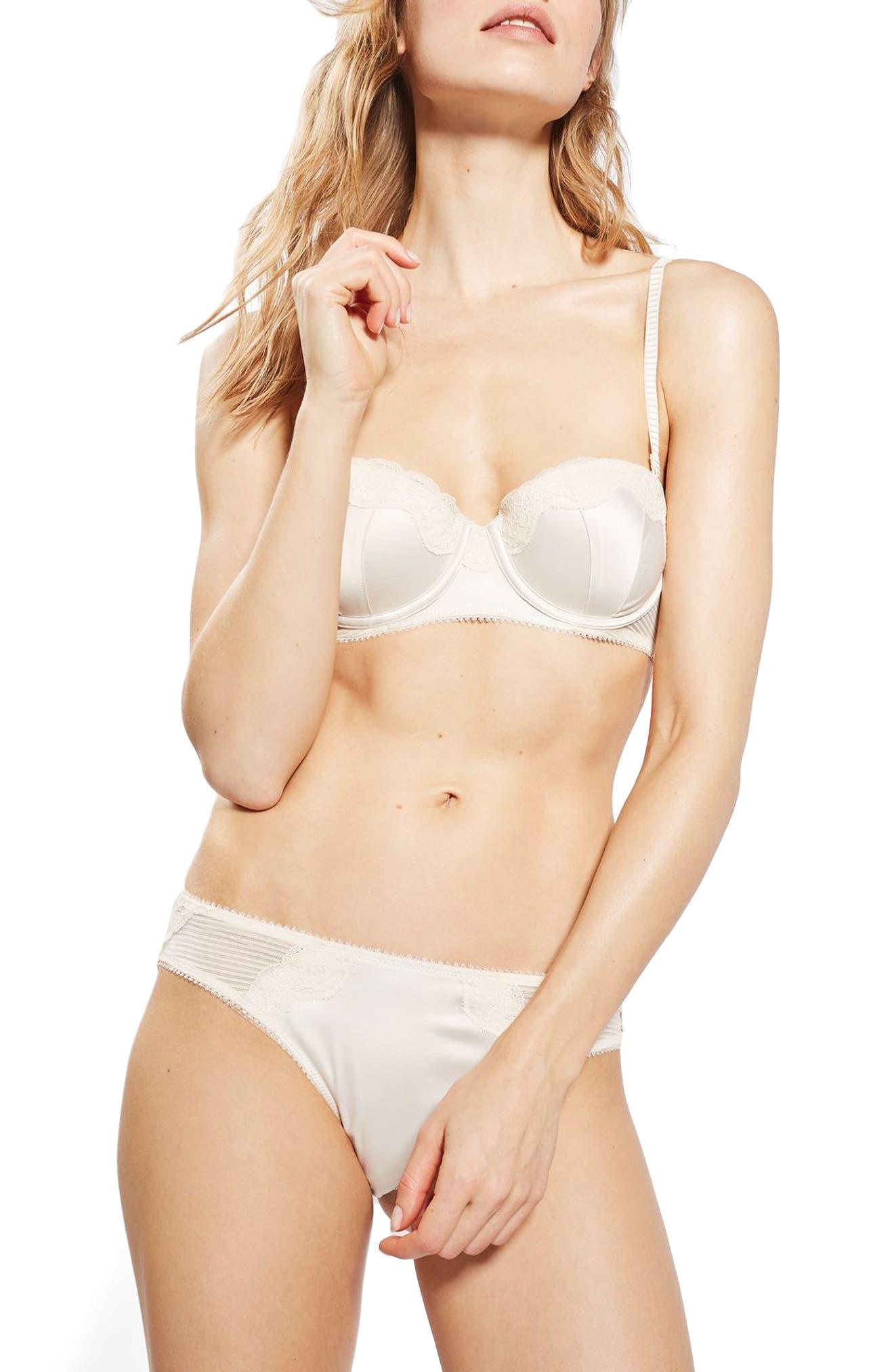 Topshop Bride Rosa Bikini
