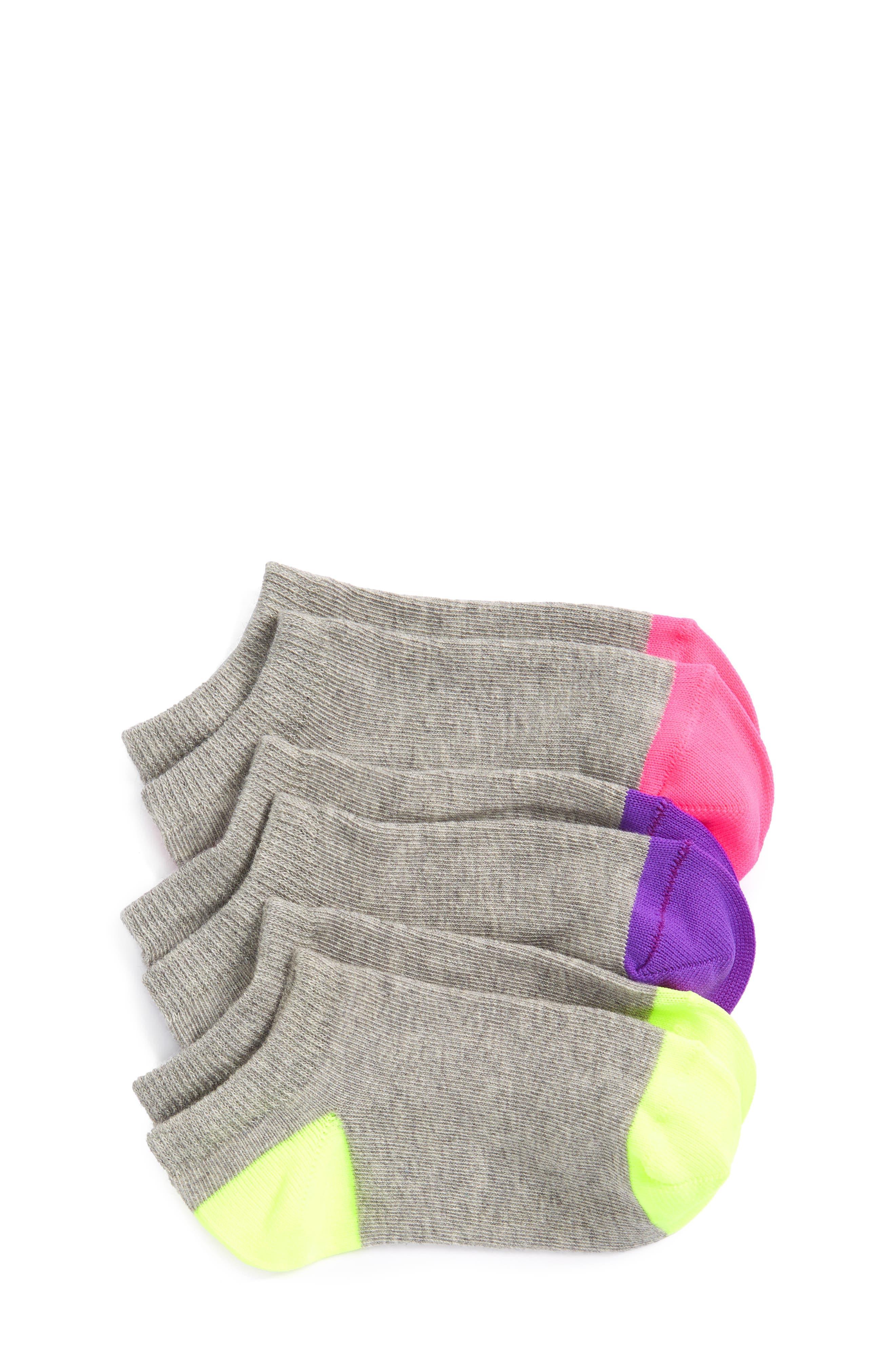 Tucker + Tate Assorted 3-Pack Liner Socks (Toddler, Little Kid & Big Kid)