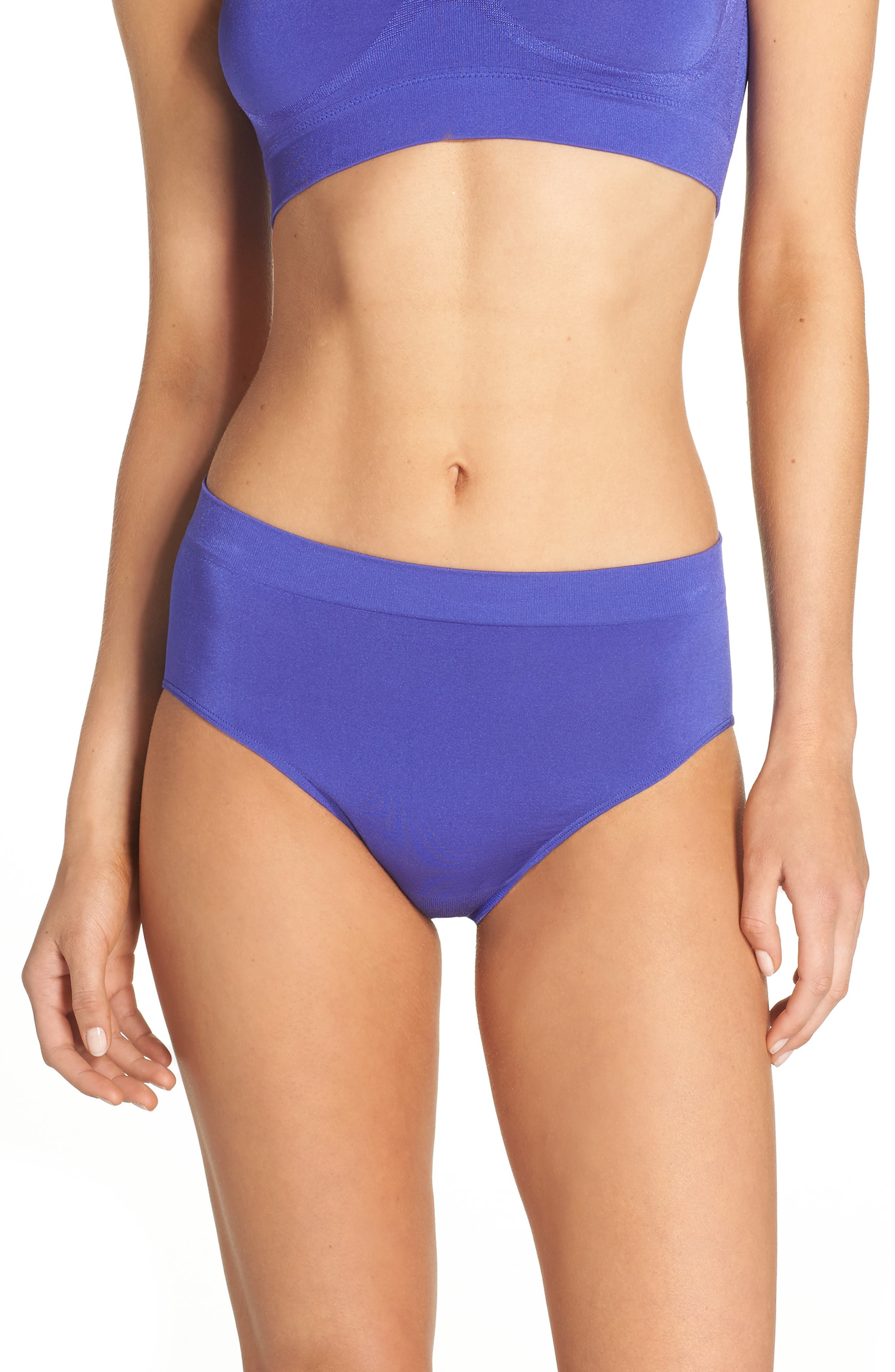 Alternate Image 1 Selected - Wacoal B Smooth High Cut Briefs (3 for $39)