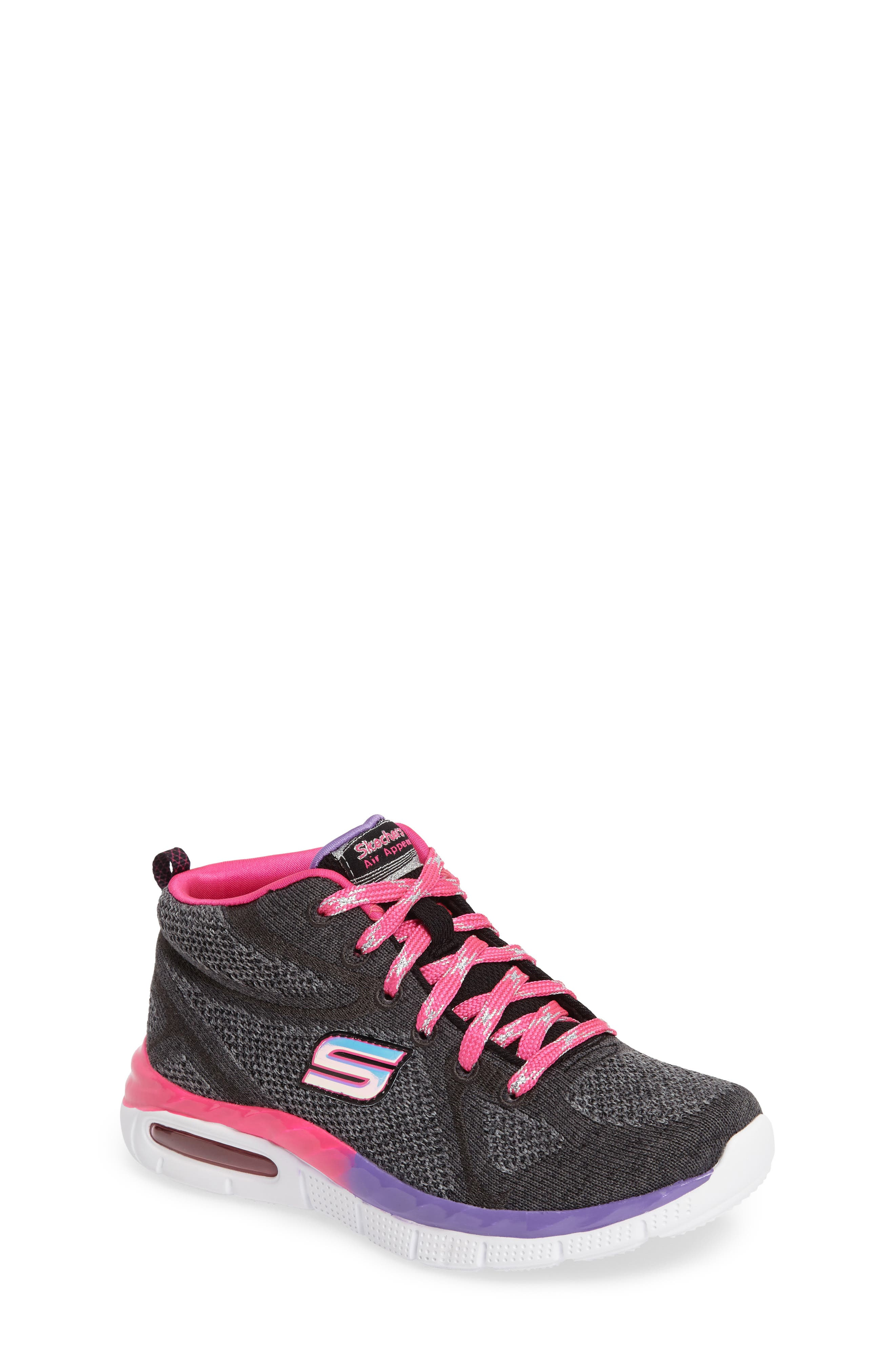 SKECHERS Air Appeal Breezin' By Sneaker (Toddler, Little Kid & Big Kid)