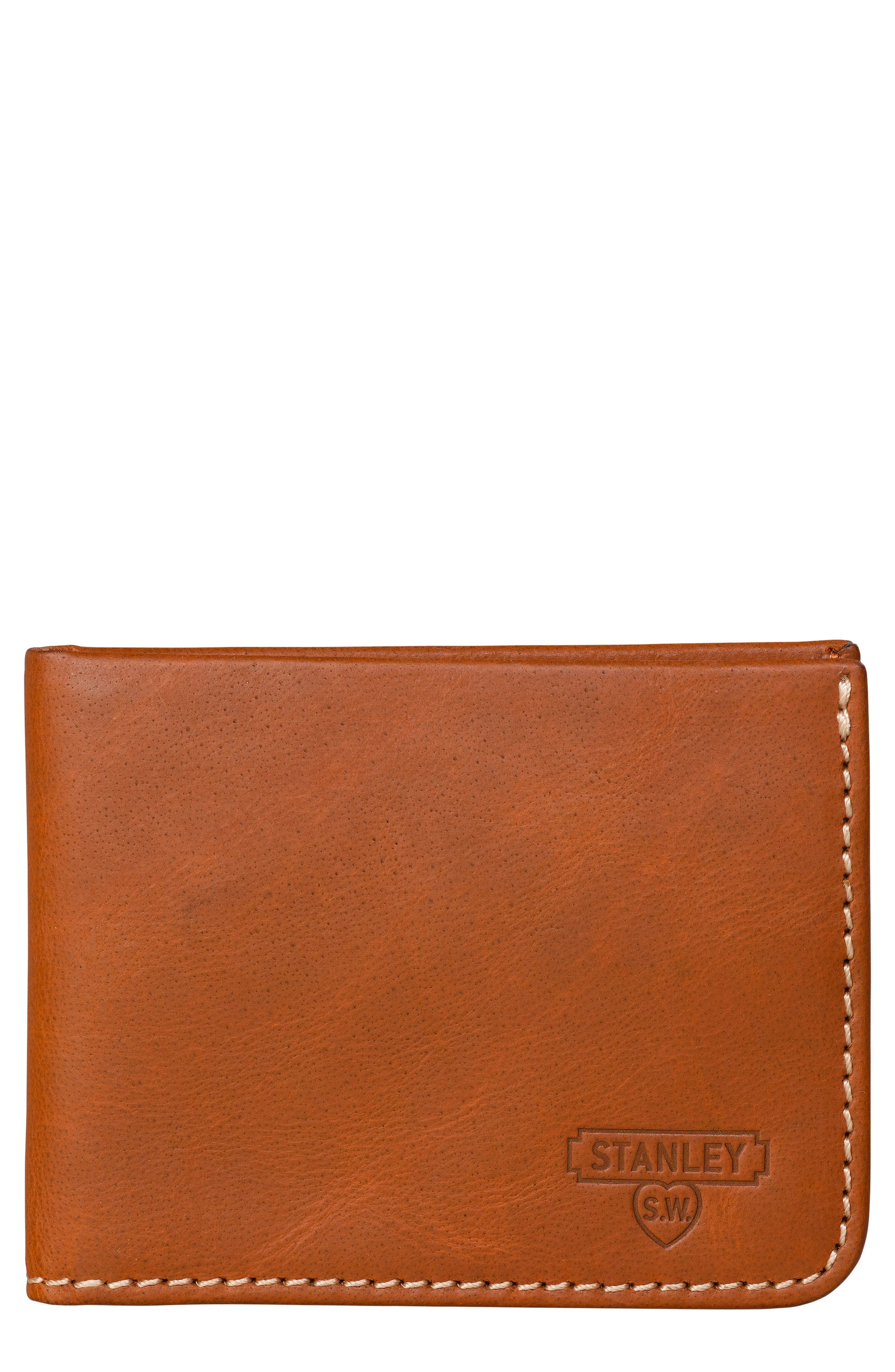 Wild & Wolf Stanley Leather Wallet with Money Clip