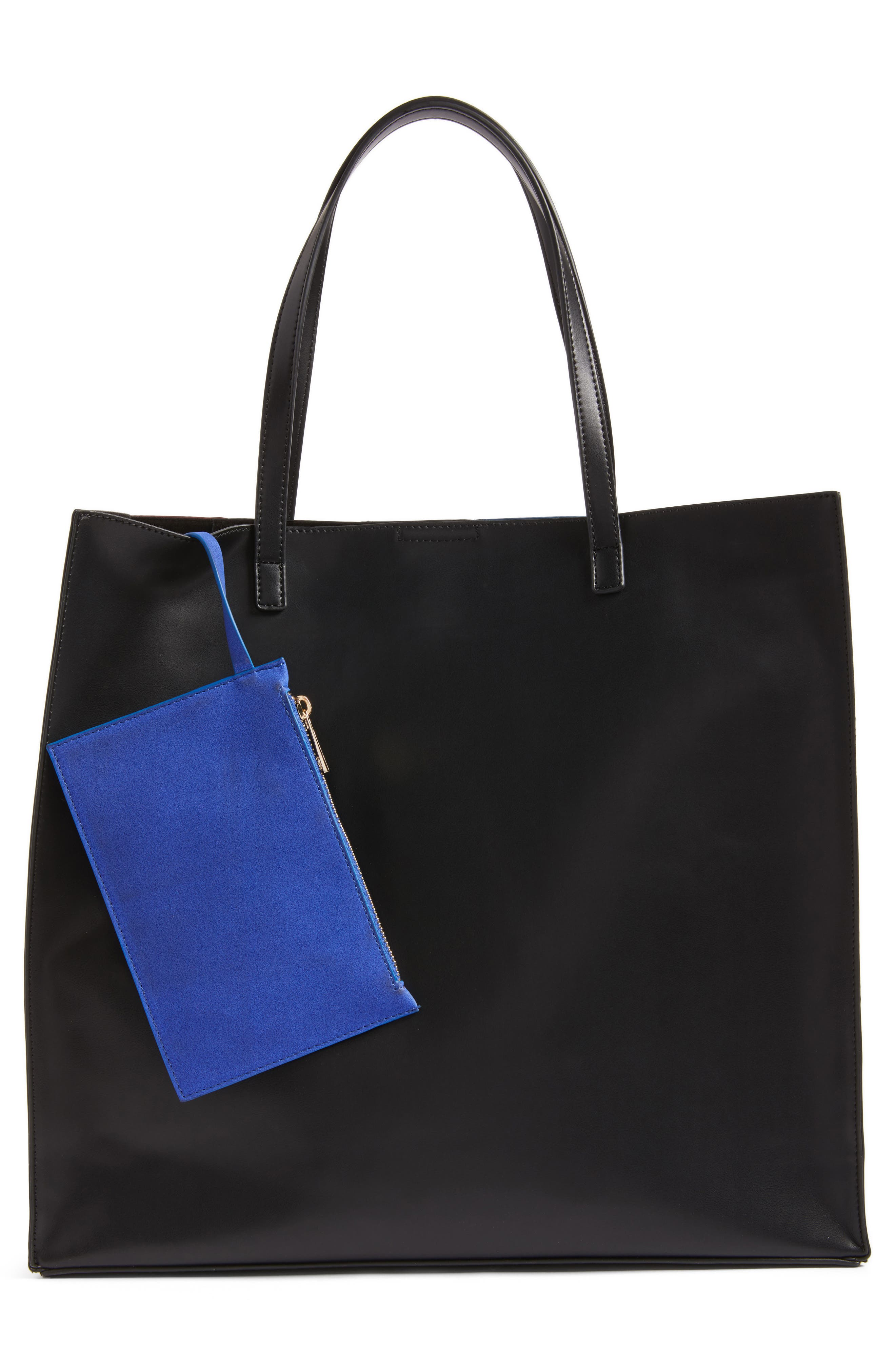 Alternate Image 3  - BP. Stripe Faux Leather Tote