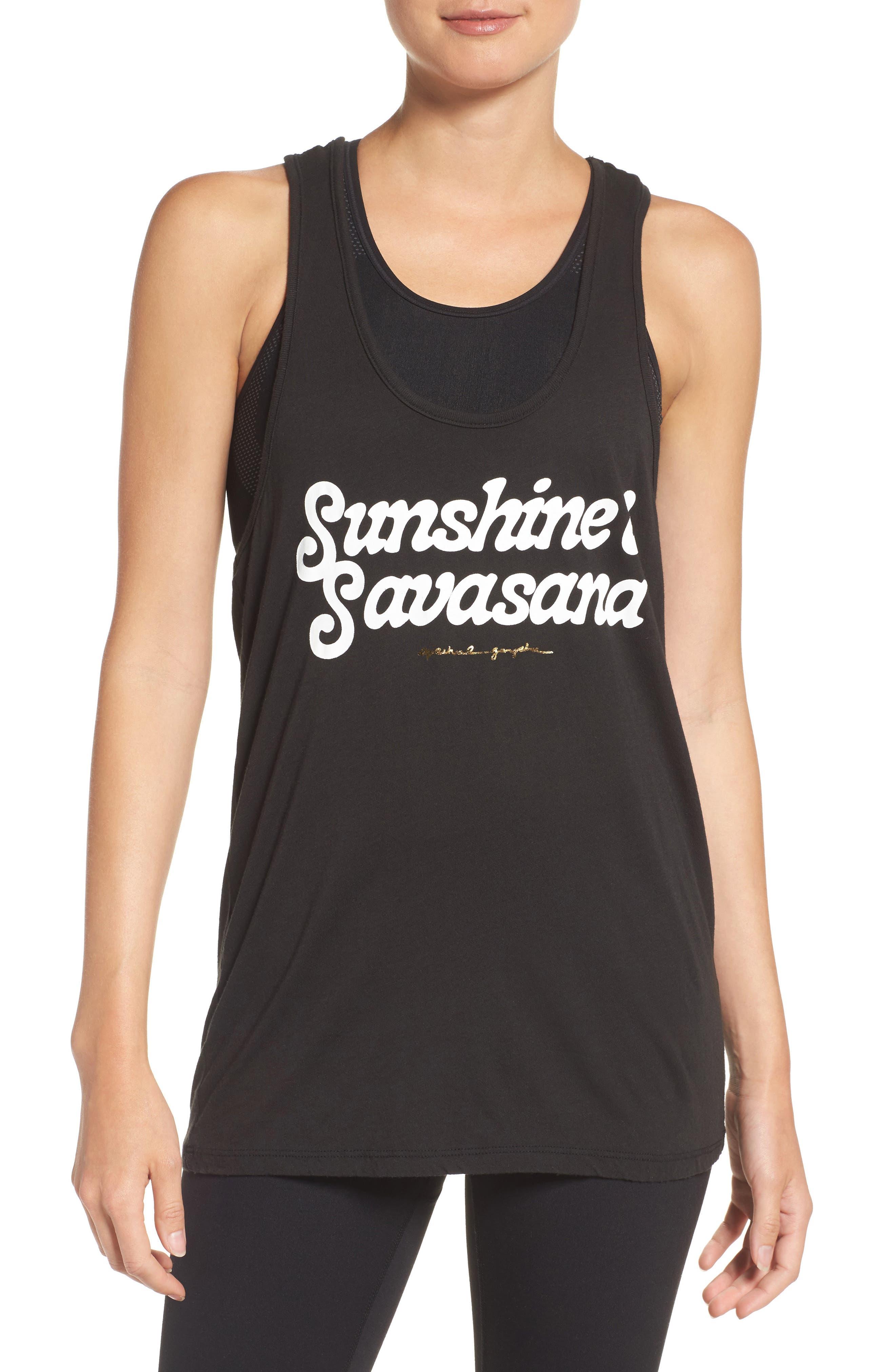 Spiritual Gangster Sunshine & Savasana Tank