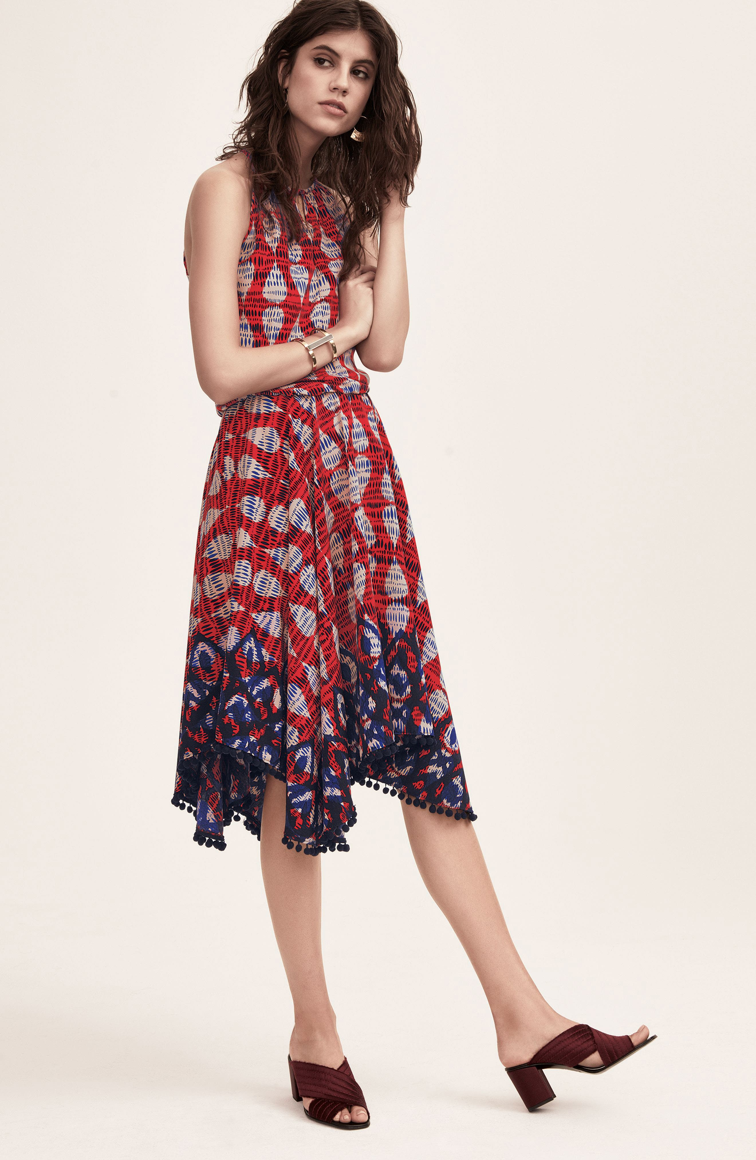 Maggy London Dress with Accessories