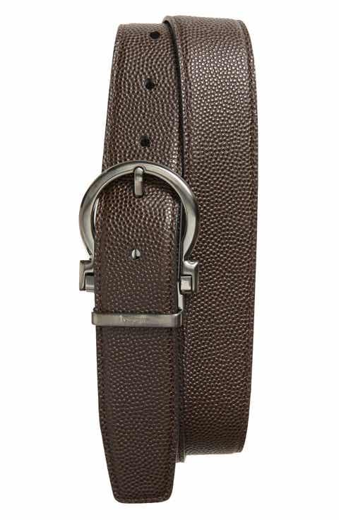 Salvatore Ferragaom Parigi Reversible Leather Belt