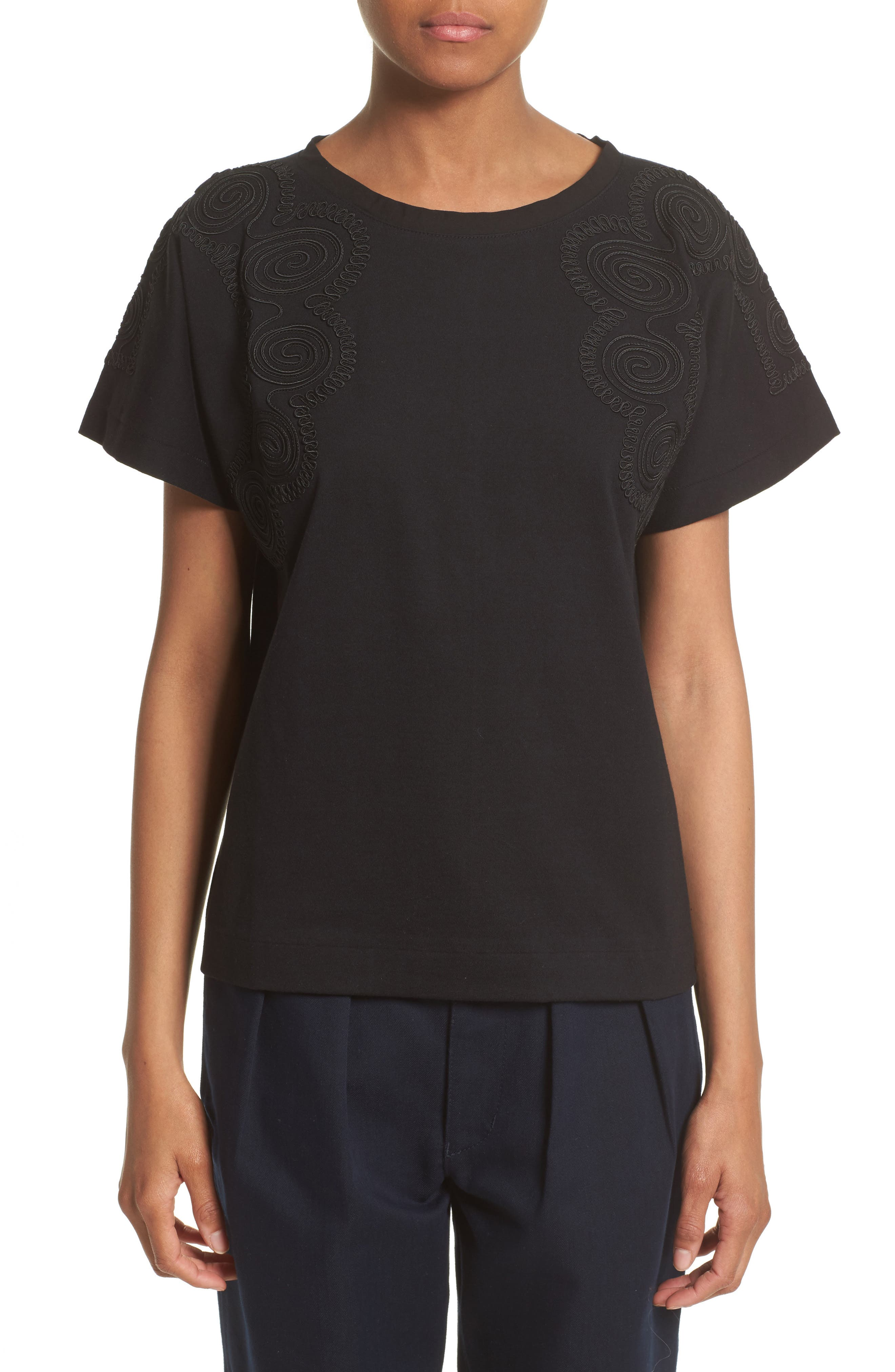 Tricot Comme des Garçons Embroidered Tee