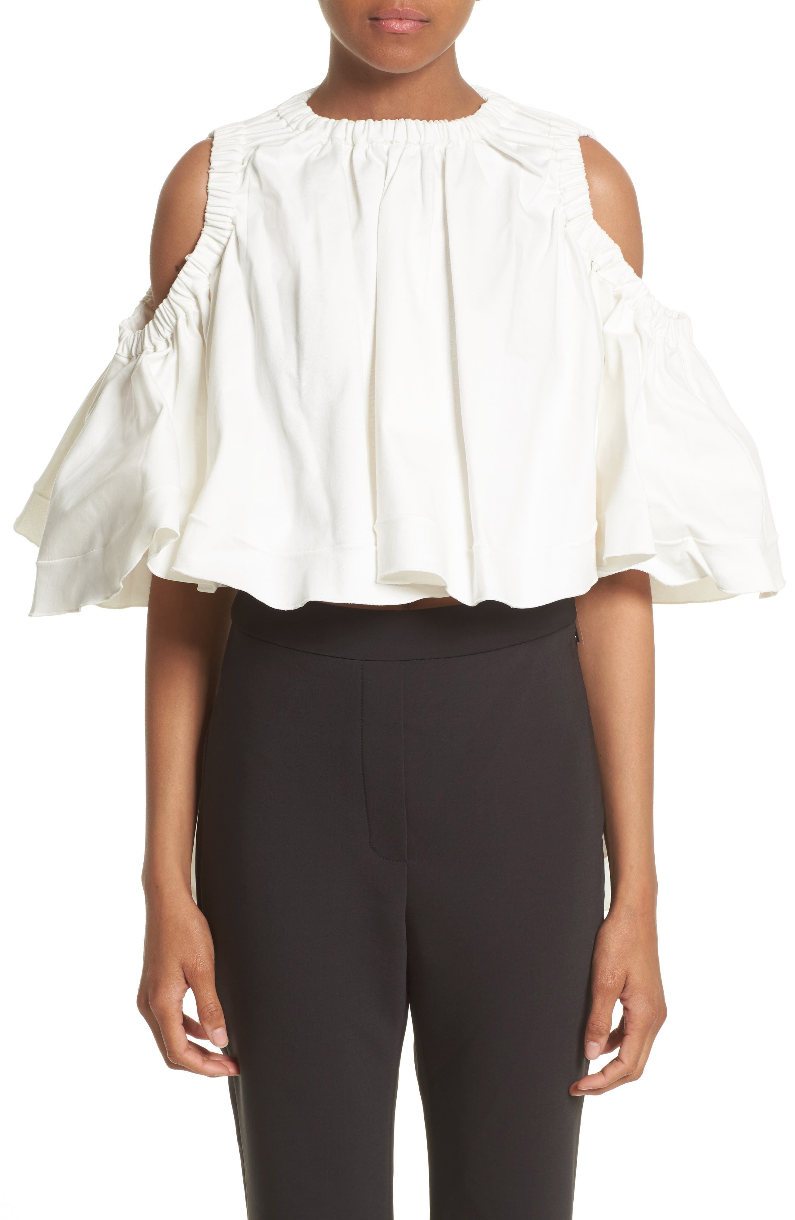 Main Image - ELLERY Baby Cold Shoulder Top