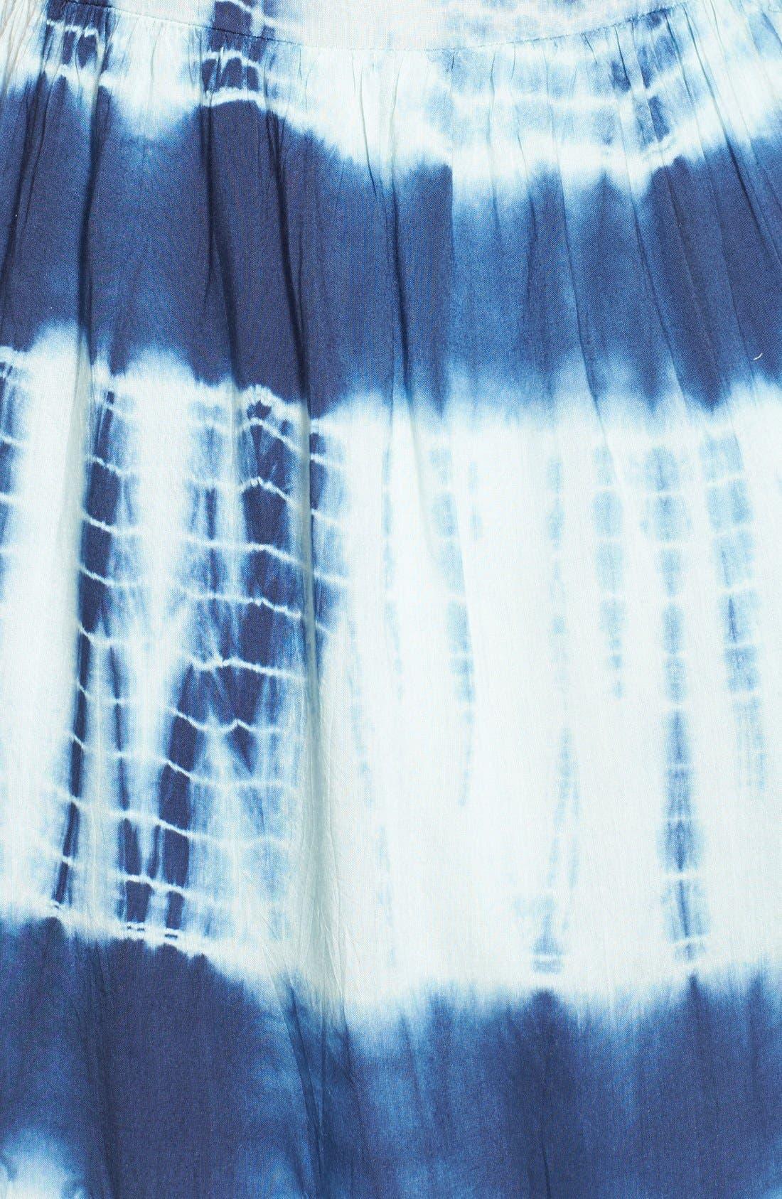 Alternate Image 3  - Volcom 'Freudian Slip' Tie Dye Babydoll Dress