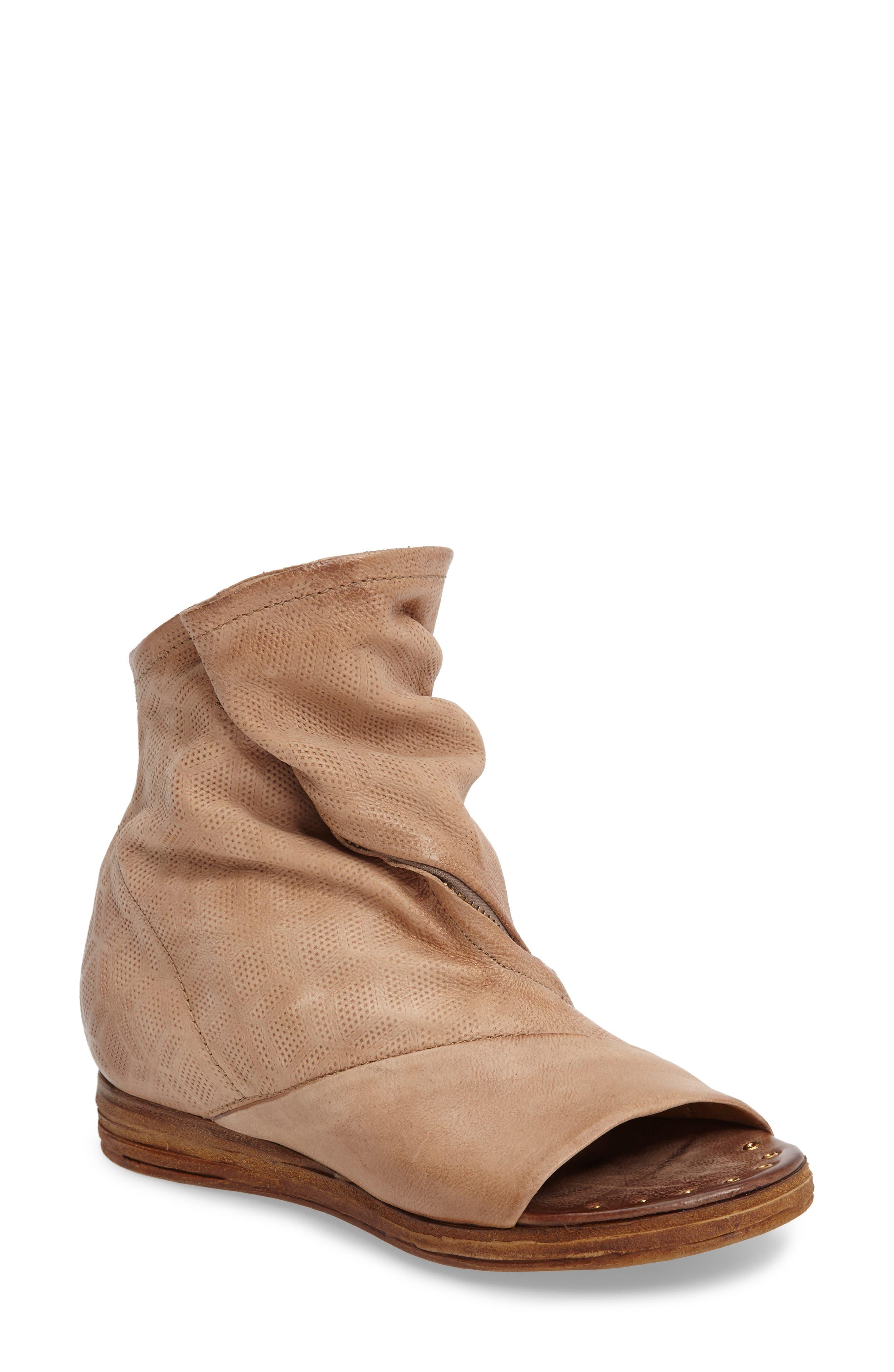 A.S. 98 Brielle Open Toe Bootie (Women)