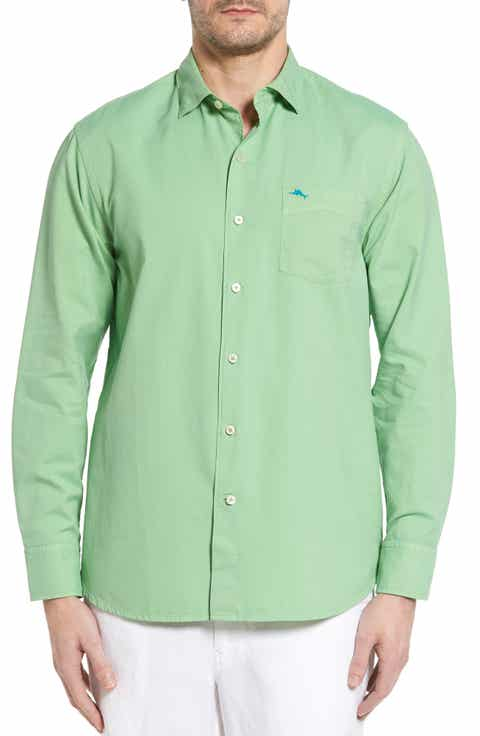 Tommy Bahama 'Island Twill' Sport Shirt (Big   Tall)