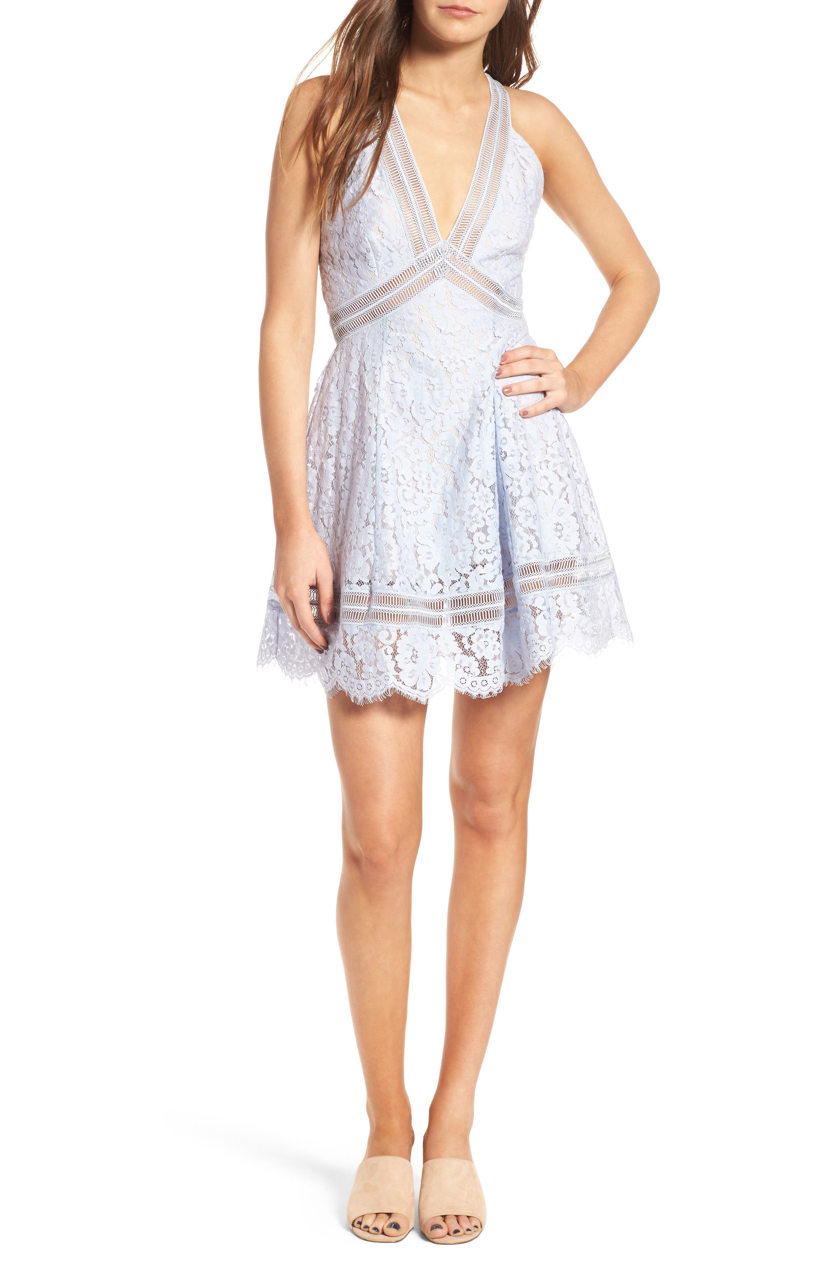 Keepsake the Label Oblivion Lace Minidress
